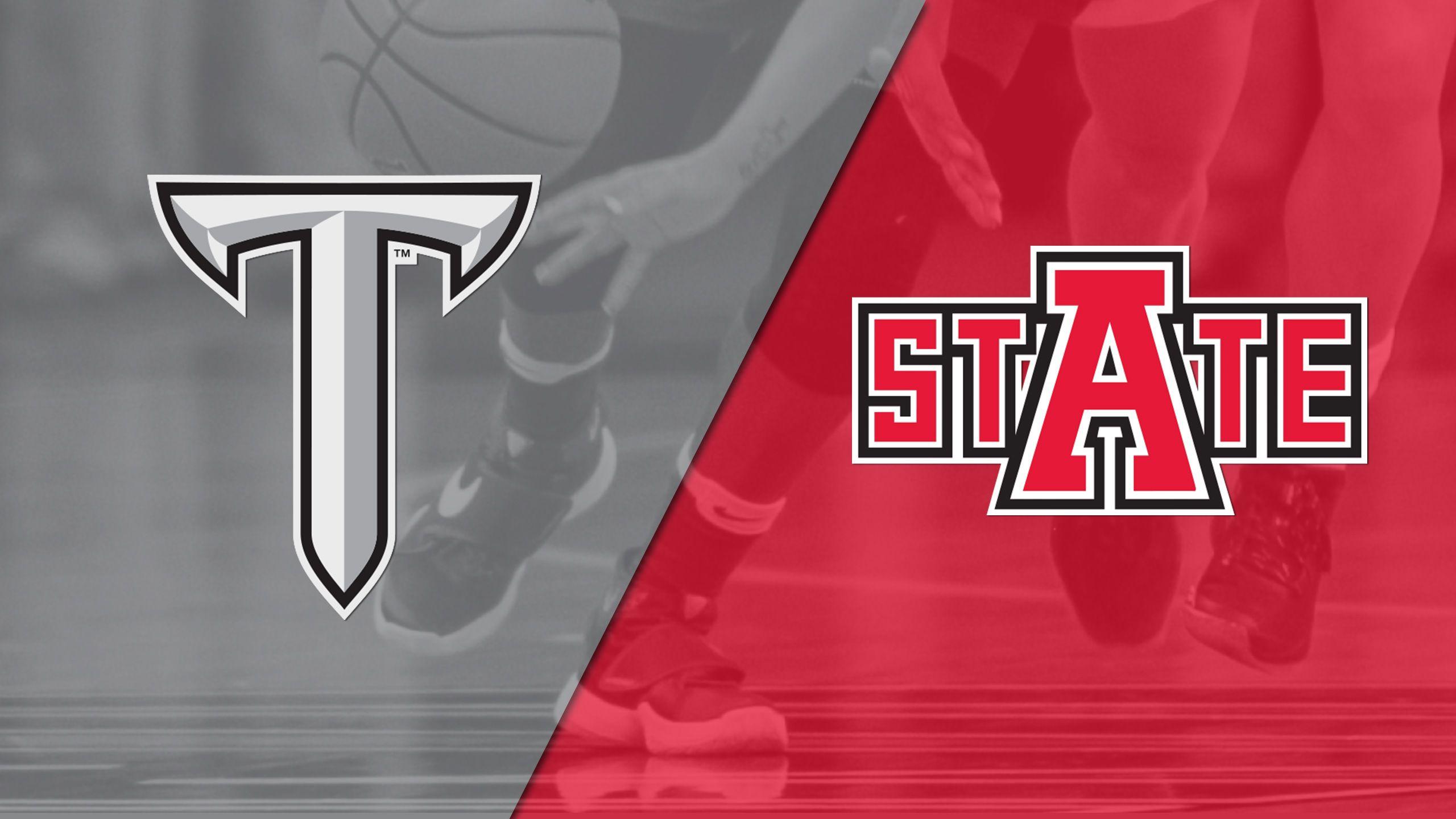 Troy vs. Arkansas State (W Basketball)