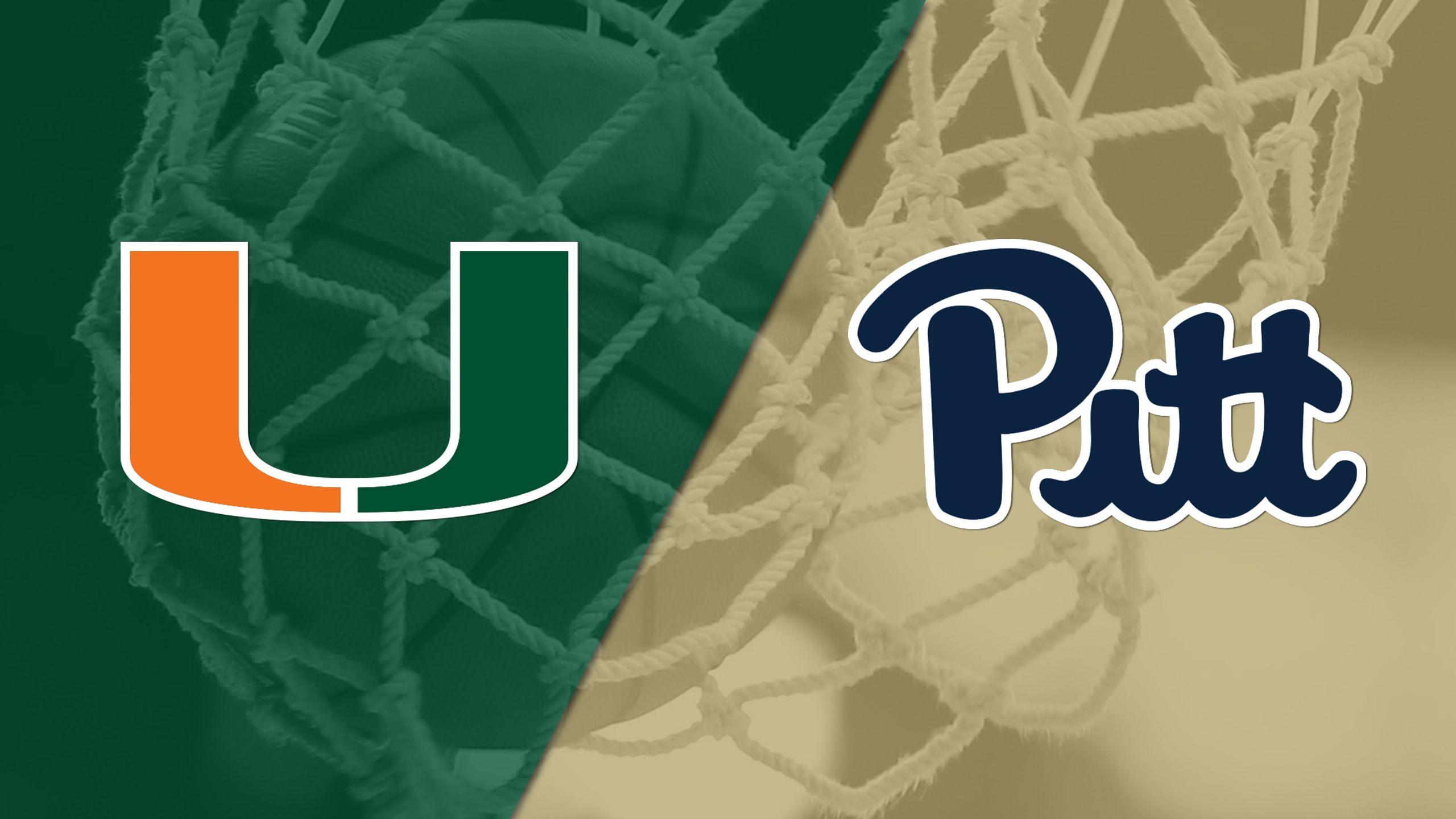 #14 Miami vs. Pittsburgh (W Basketball)