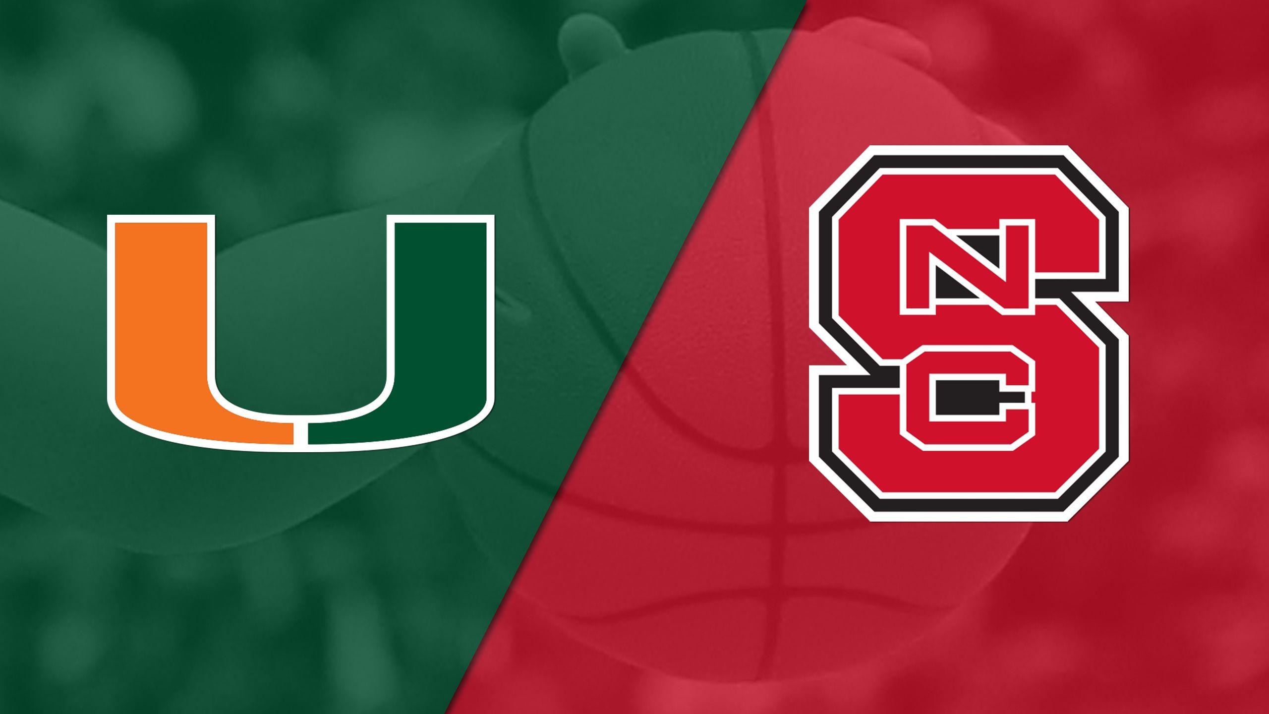 #14 Miami vs. NC State (W Basketball)