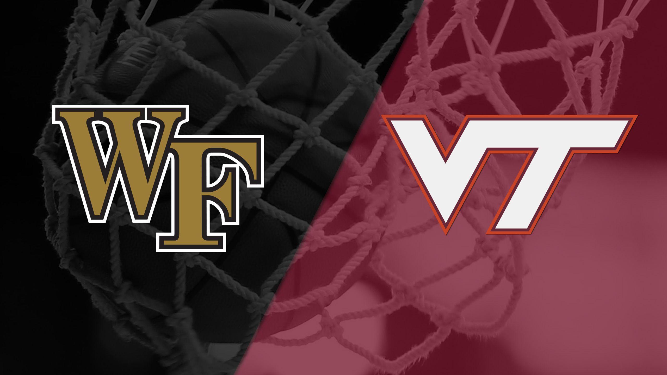 Wake Forest vs. #17 Virginia Tech (W Basketball)