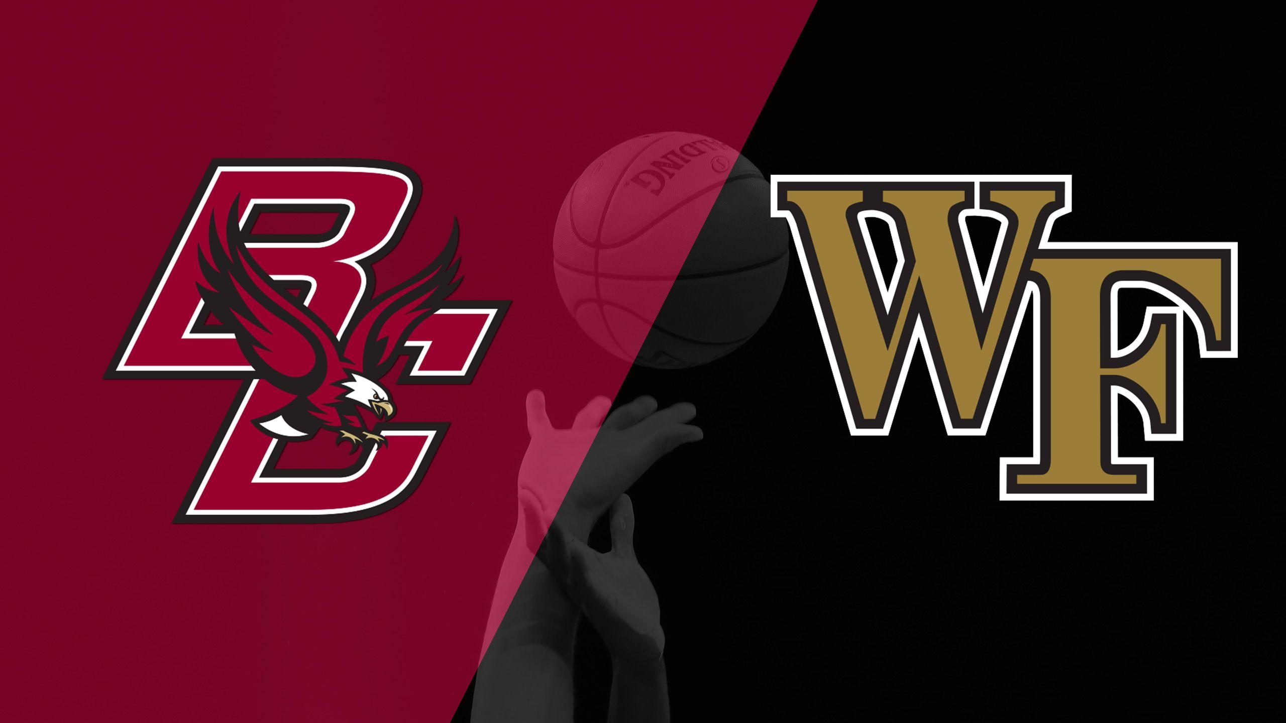 Boston College vs. Wake Forest (W Basketball)