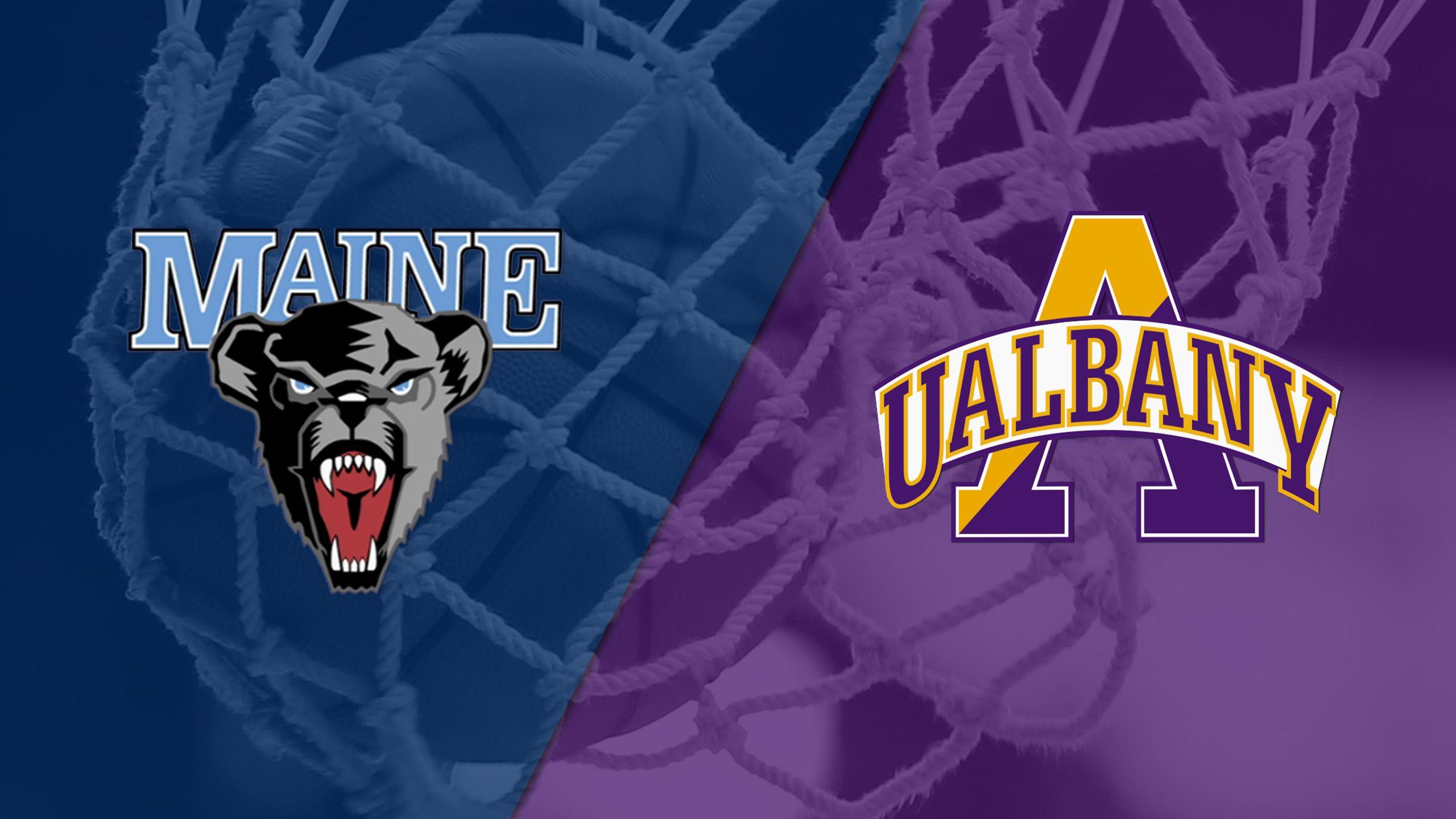 Maine vs. Albany (W Basketball)