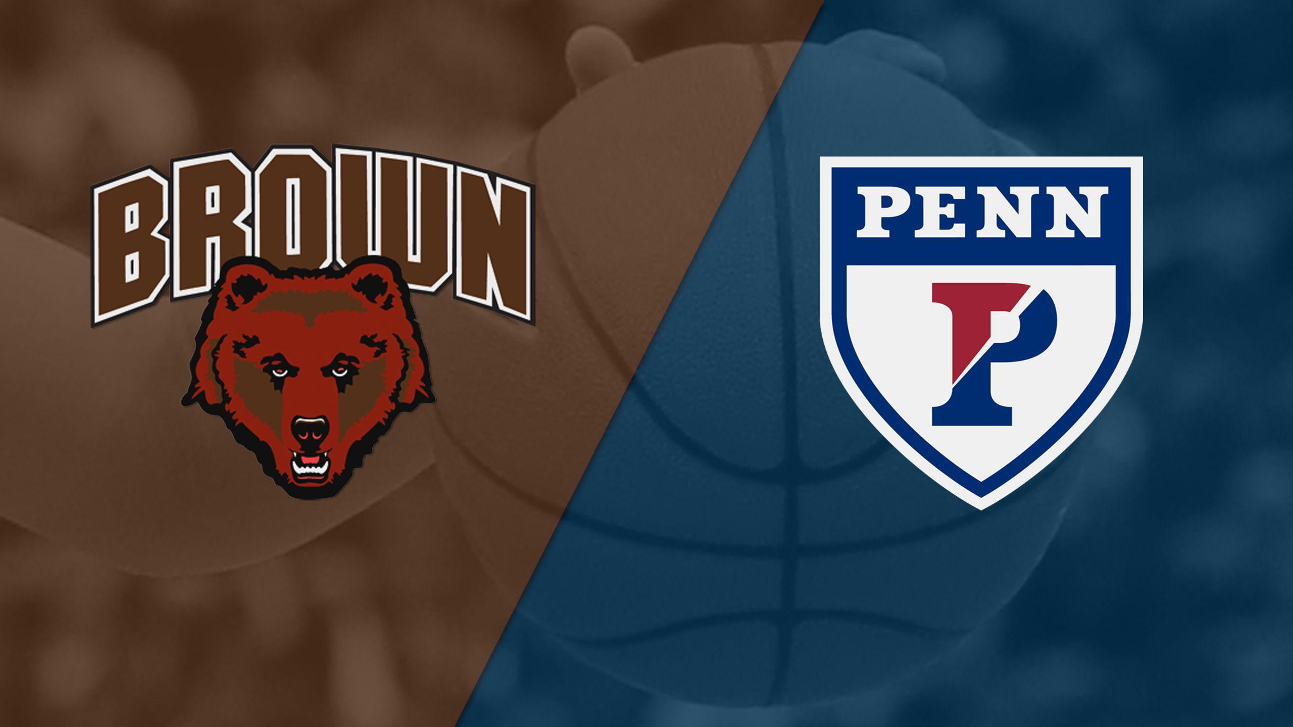 Brown vs. Pennsylvania (Semifinal #1) (The Ivy League Women's Tournament)
