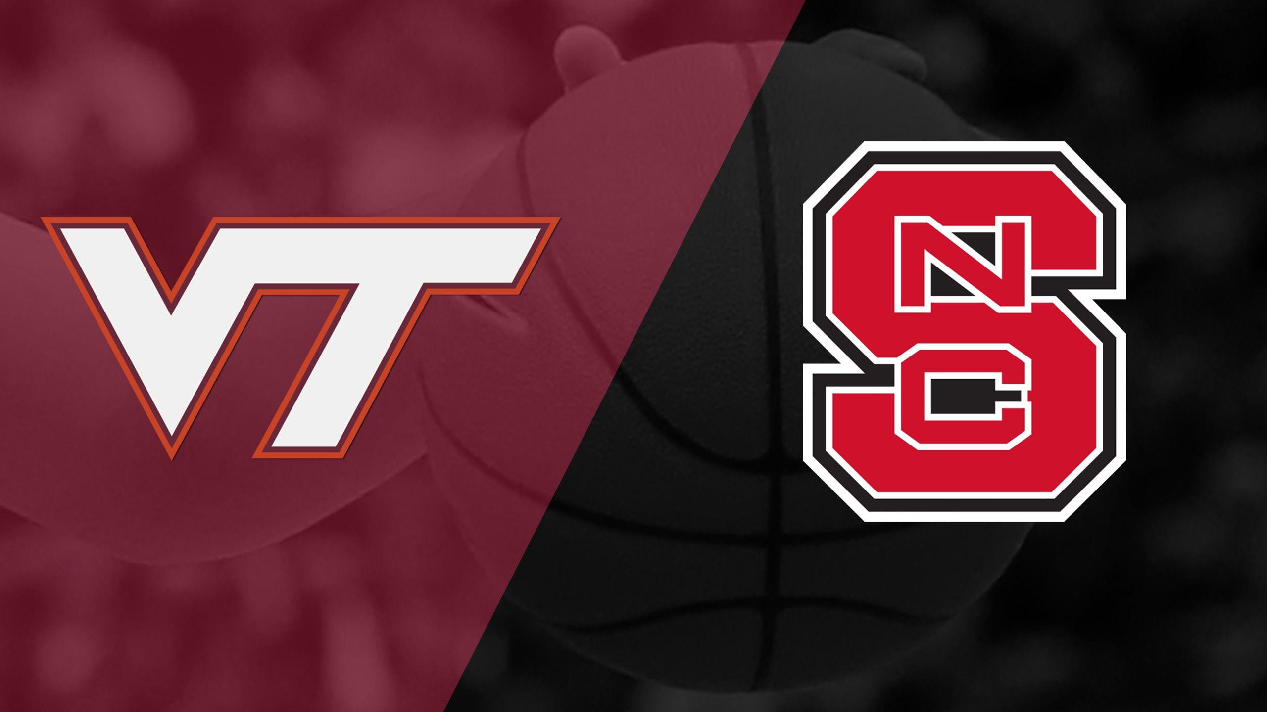 Virginia Tech vs. #17 NC State (W Basketball)