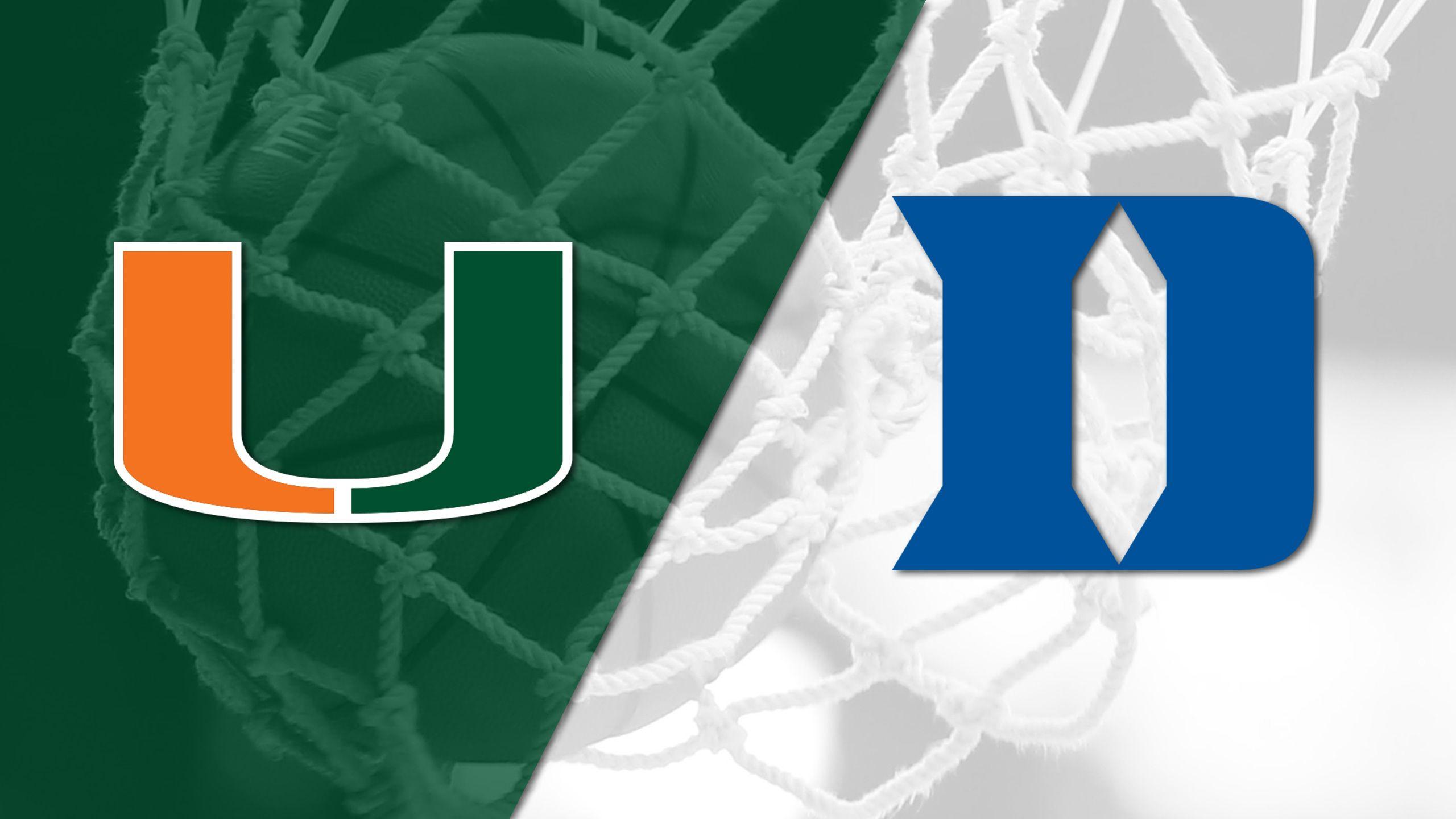 #16 Miami vs. #13 Duke (W Basketball)