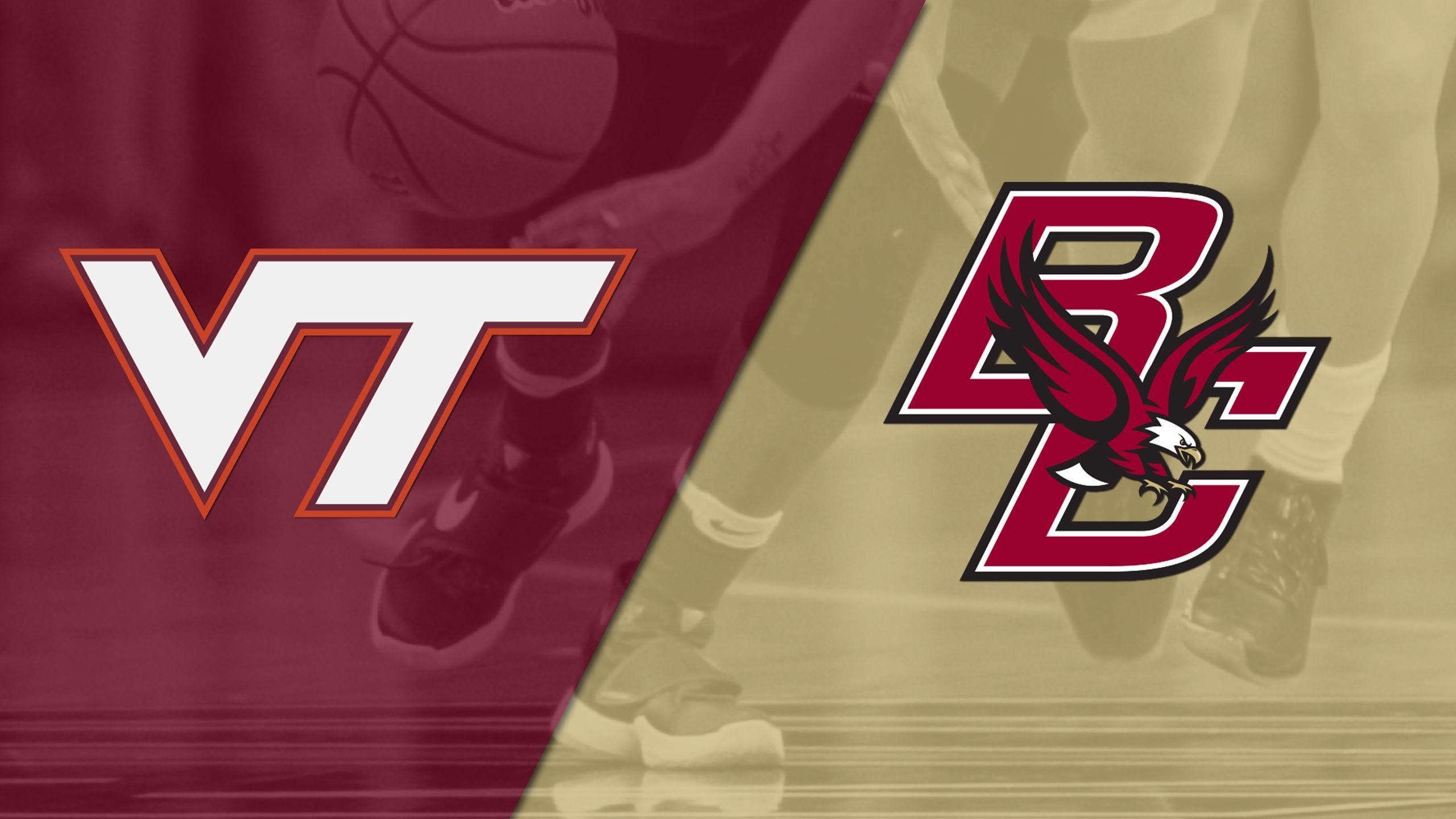 Virginia Tech vs. Boston College (W Basketball)