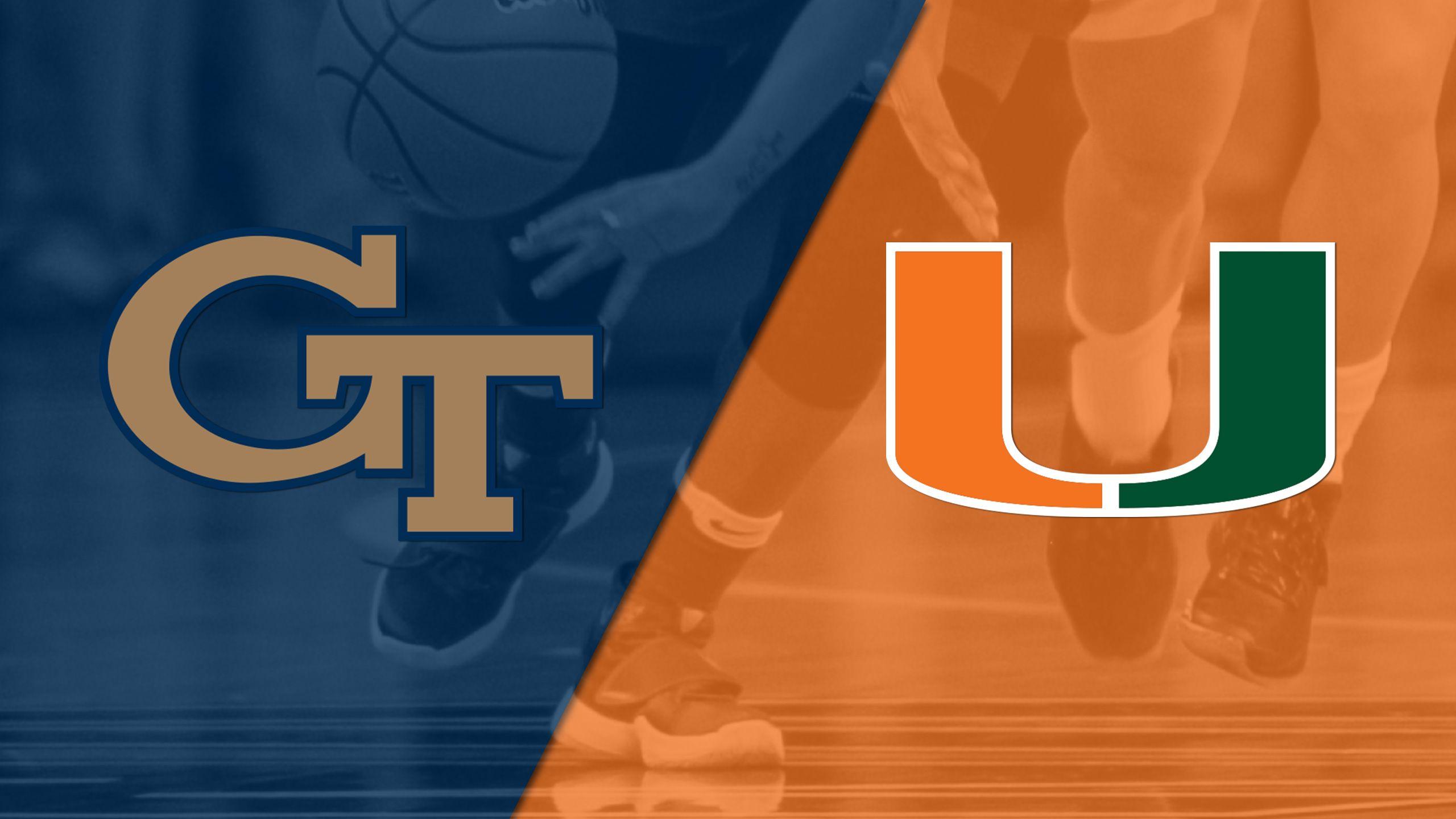 Georgia Tech vs. #17 Miami (W Basketball)