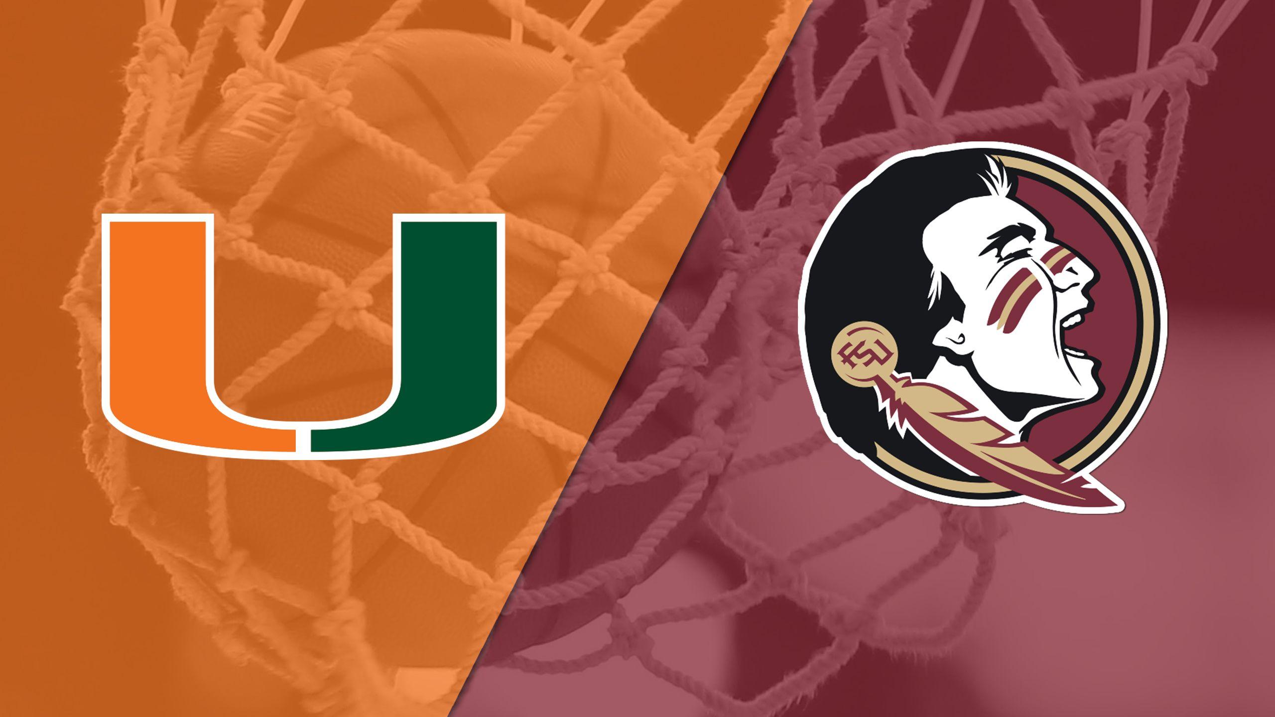 #16 Miami vs. #8 Florida State (Quarterfinal) (ACC Women's Tournament)