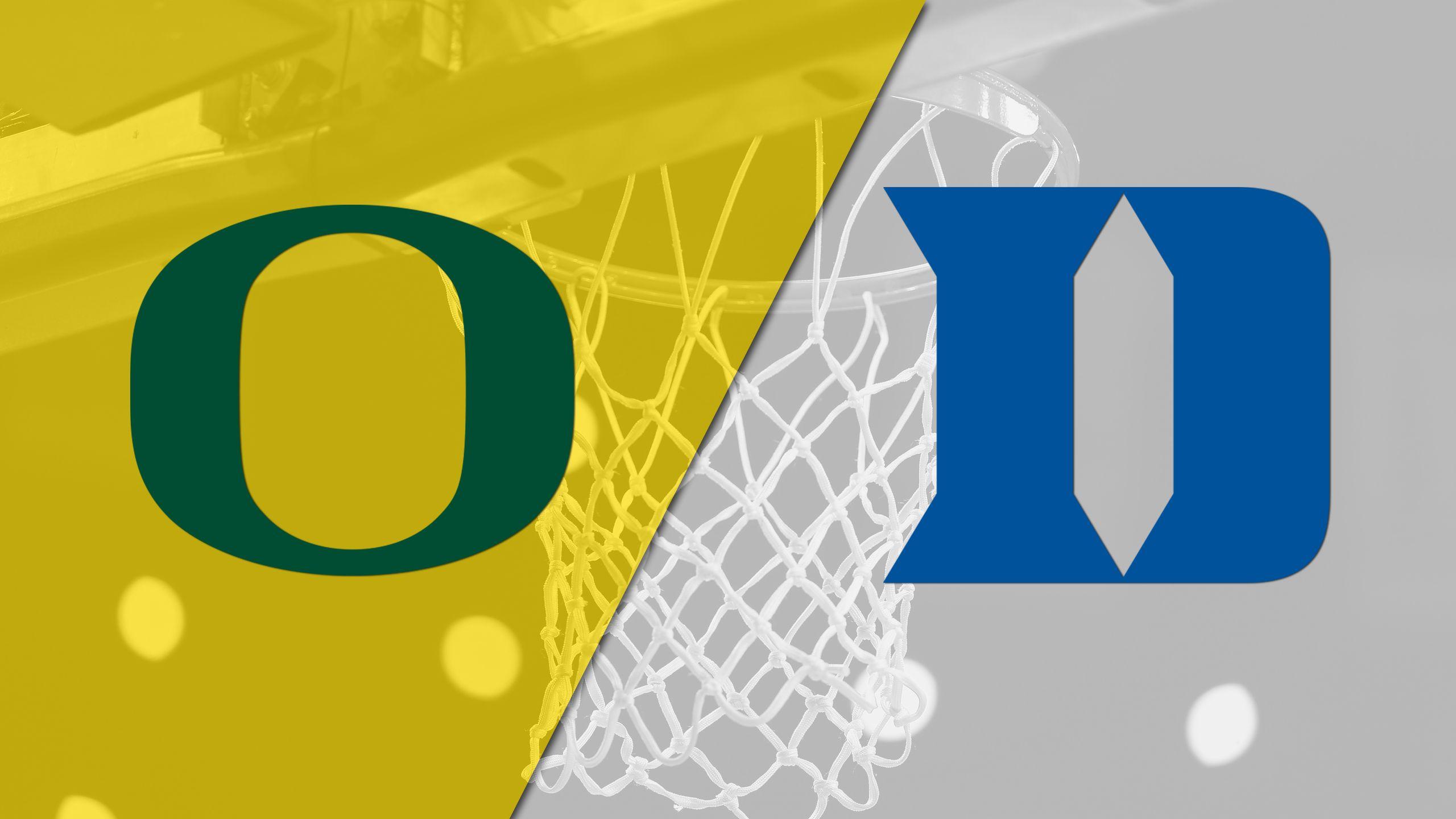 #10 Oregon vs. #2 Duke (Second Round) (NCAA Women's Basketball Championship)