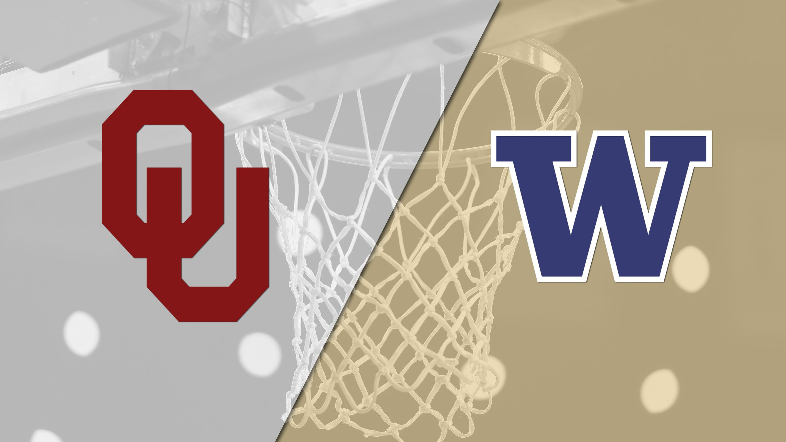 #6 Oklahoma vs. #3 Washington (Second Round) (NCAA Women's Basketball Championship)