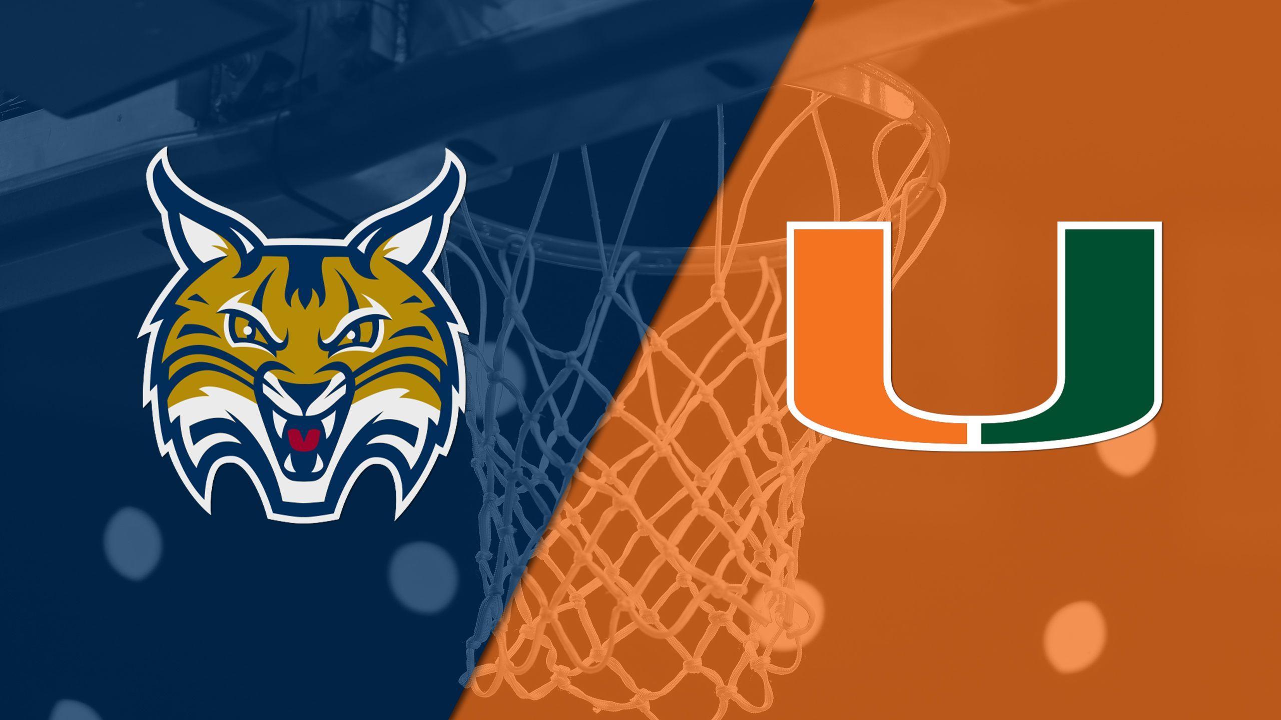 #12 Quinnipiac vs. #4 Miami (Second Round) (NCAA Women's Basketball Championship)