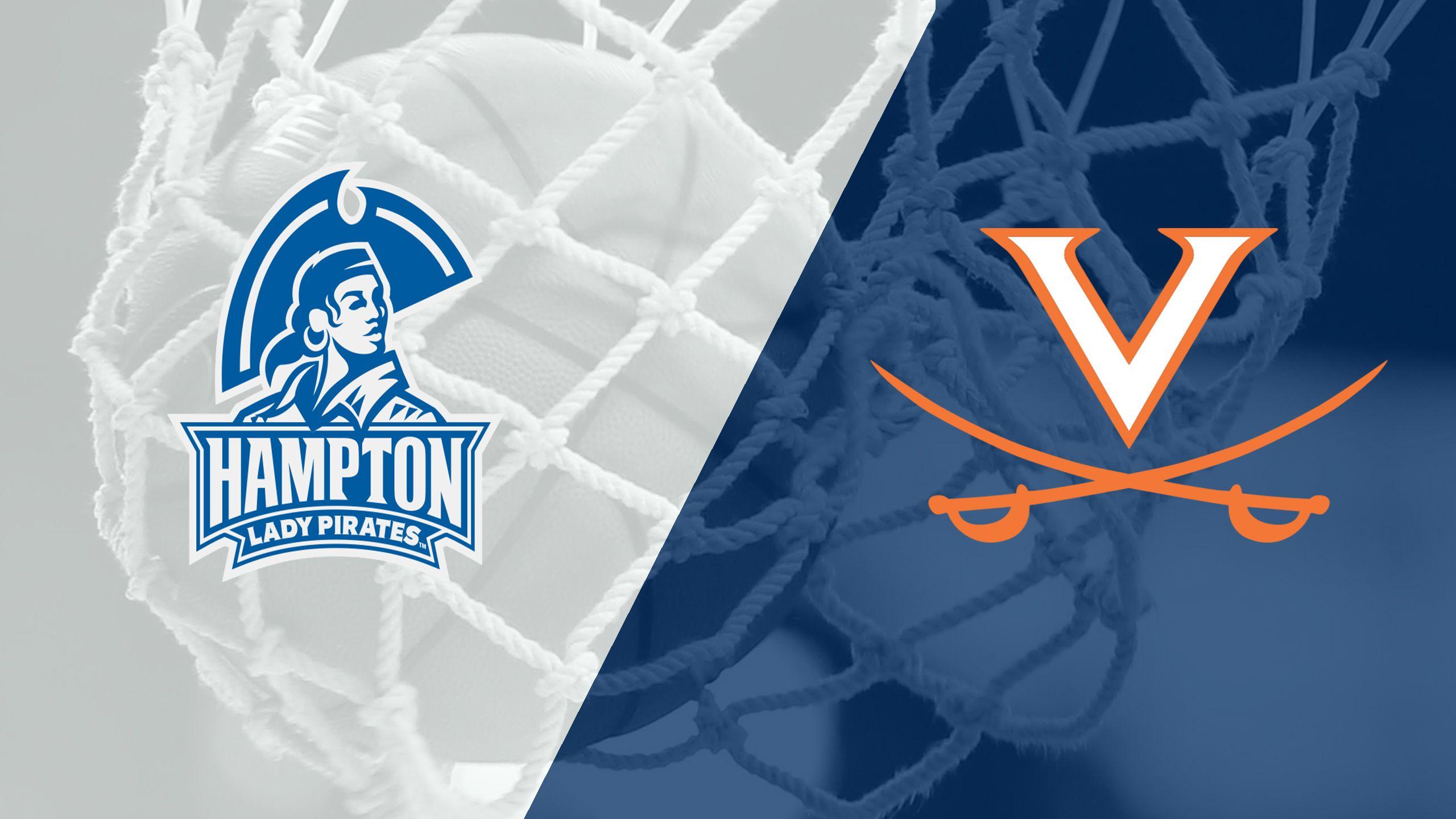 Hampton vs. Virginia (W Basketball)