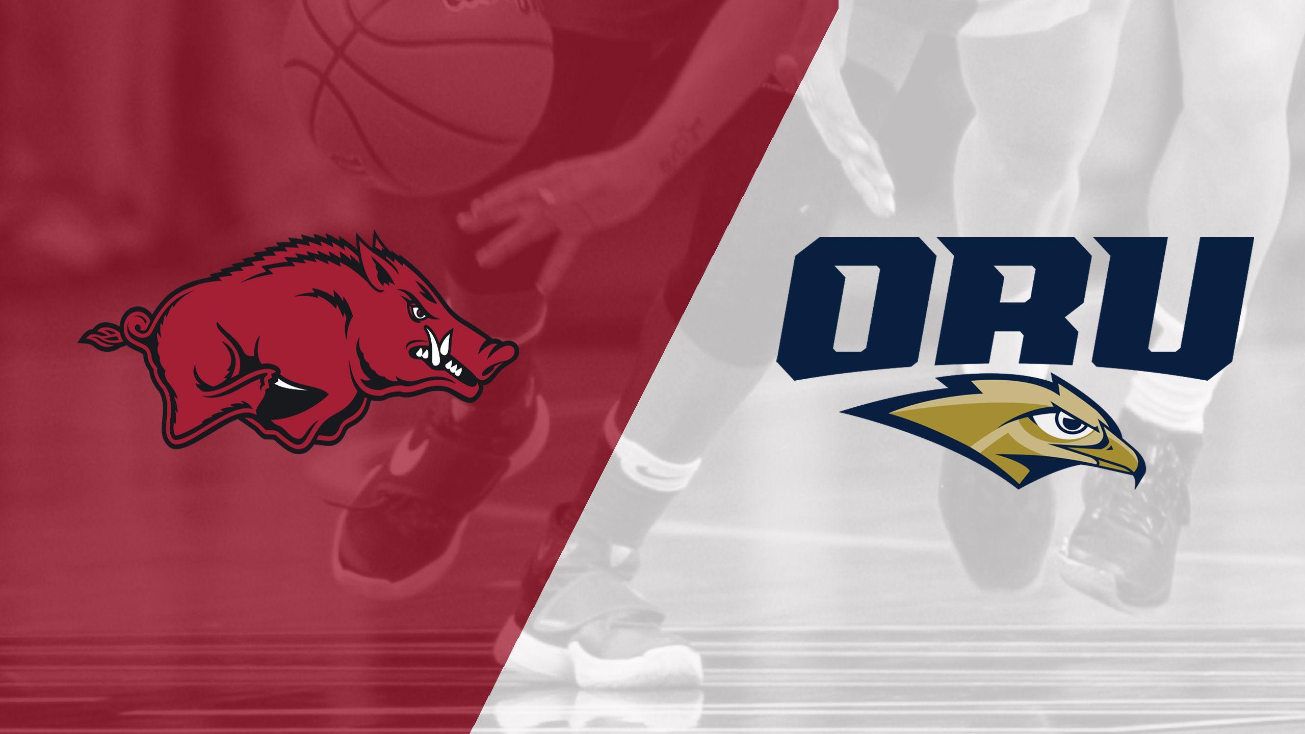 Arkansas vs. Oral Roberts (W Basketball)