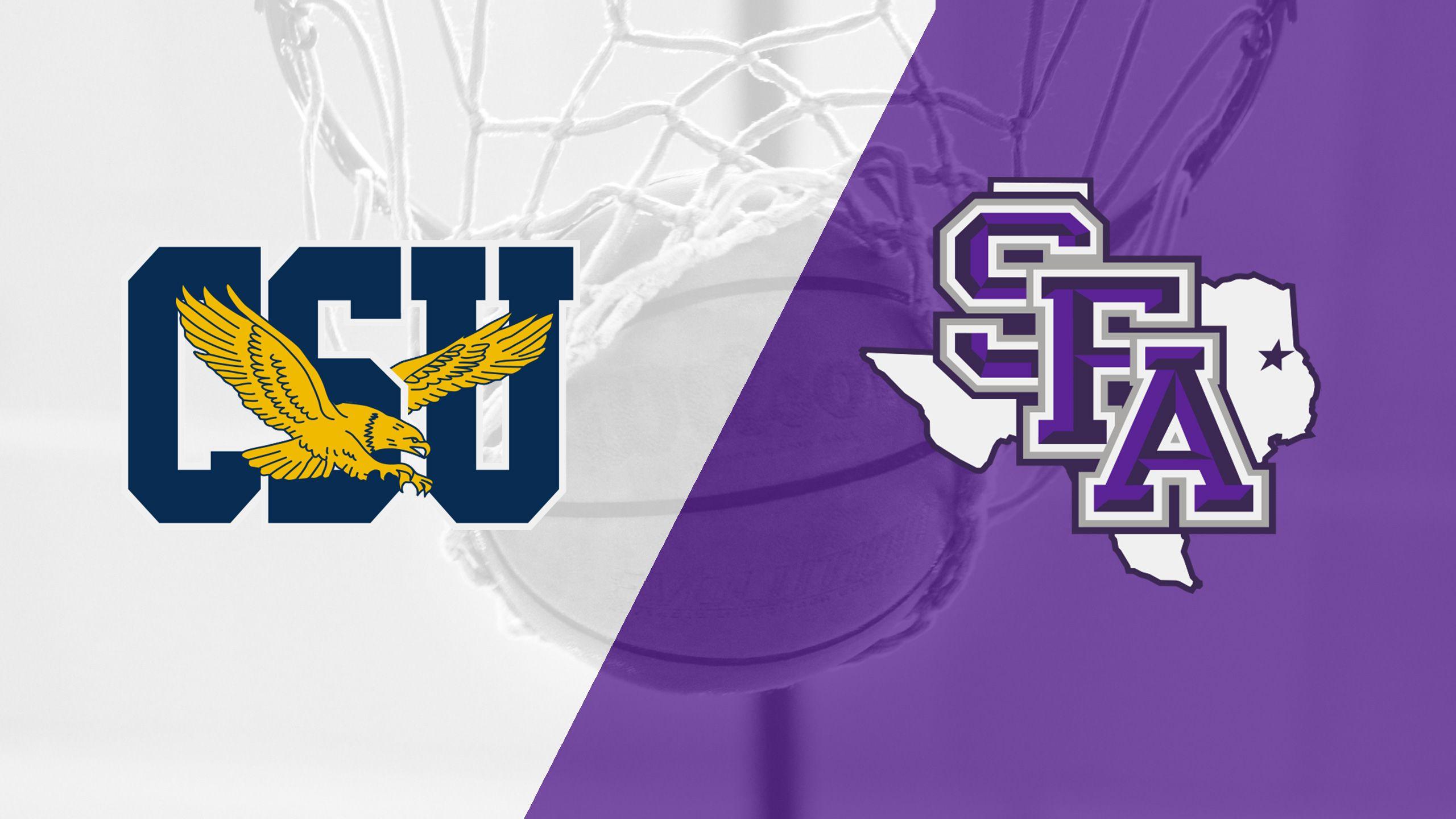 Coppin State vs. Stephen F. Austin (W Basketball)