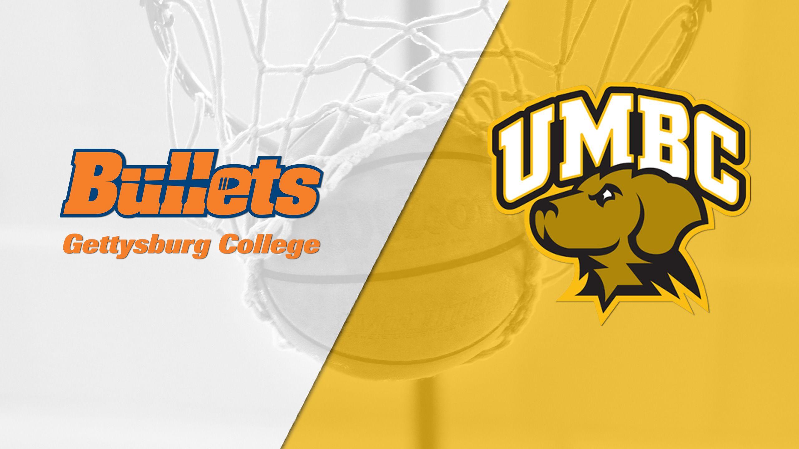 Gettysburg vs. UMBC (W Basketball)