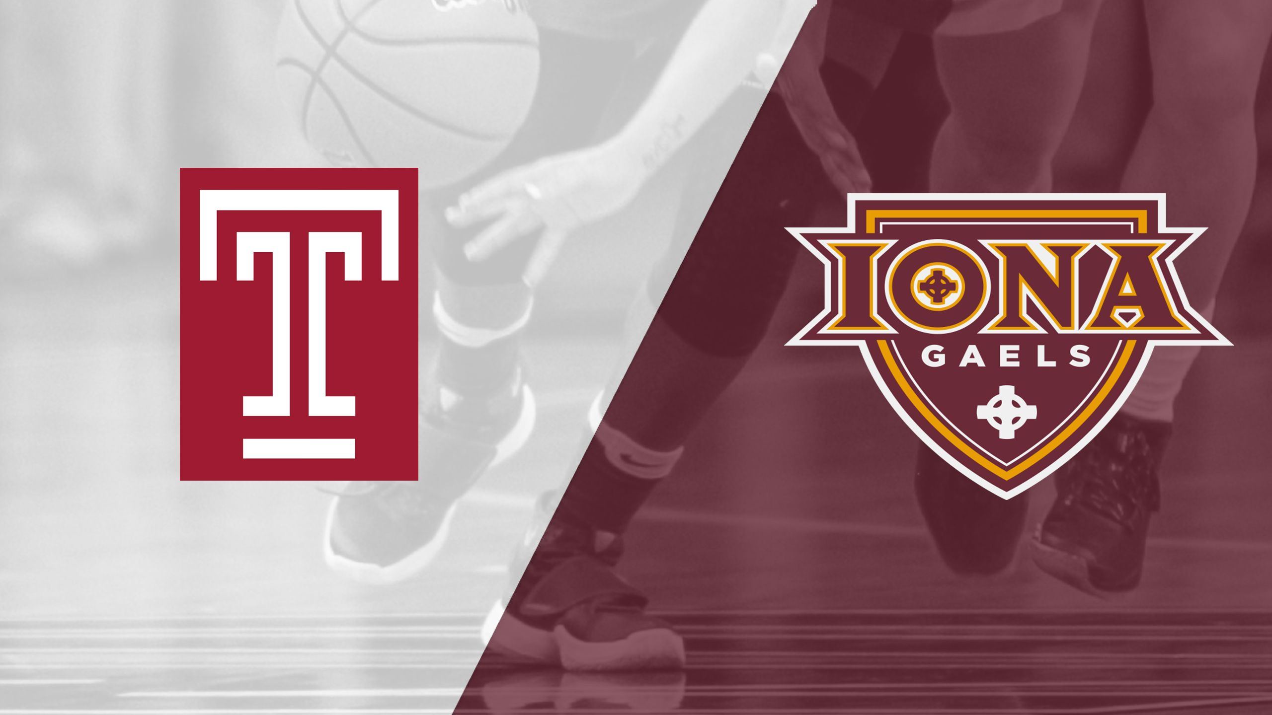 Temple vs. Iona (W Basketball)