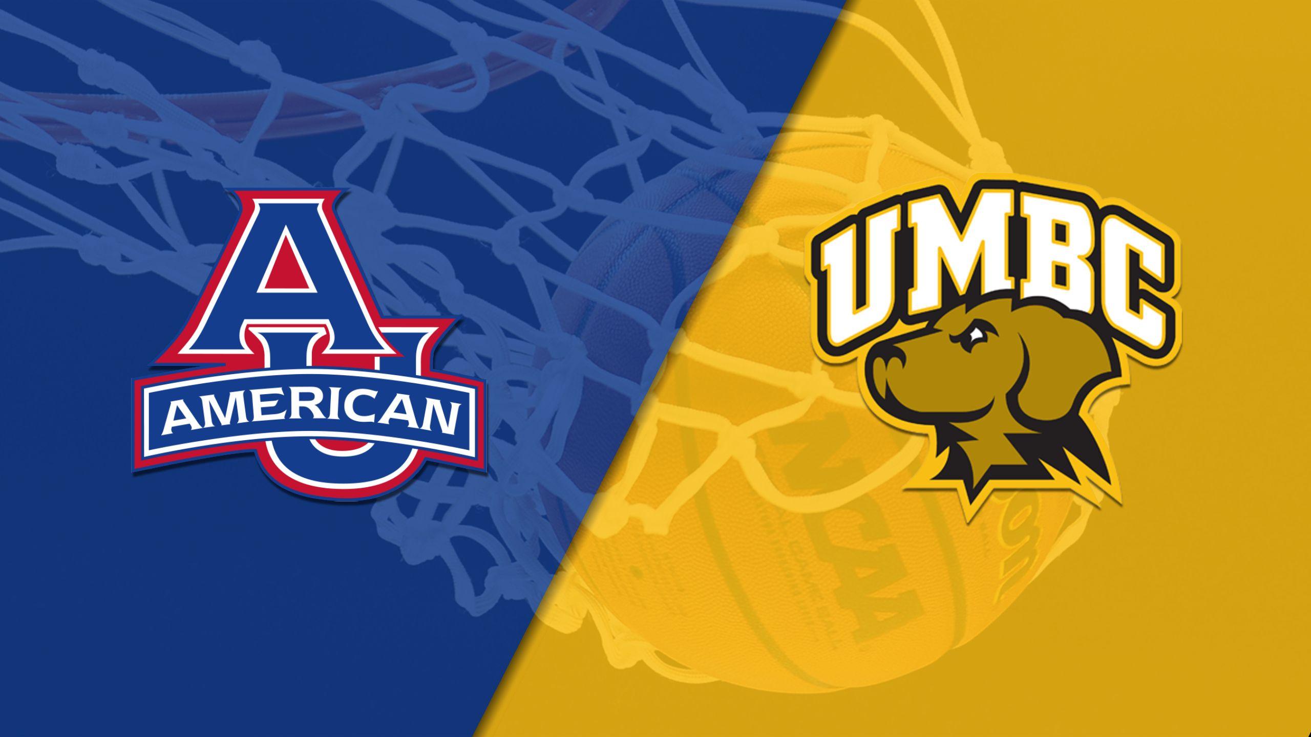 American vs. UMBC (W Basketball)