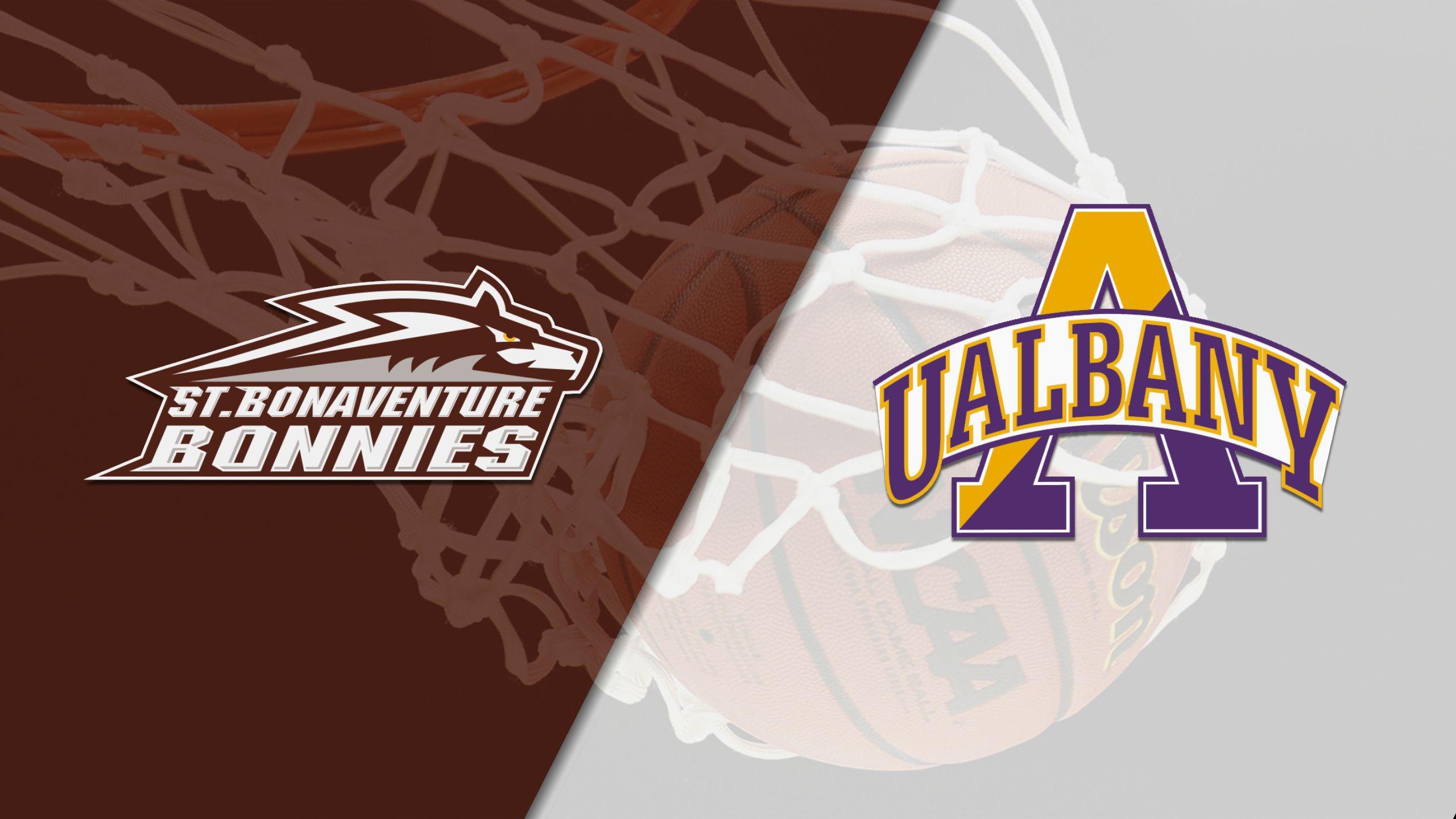 St. Bonaventure vs. Albany (W Basketball)