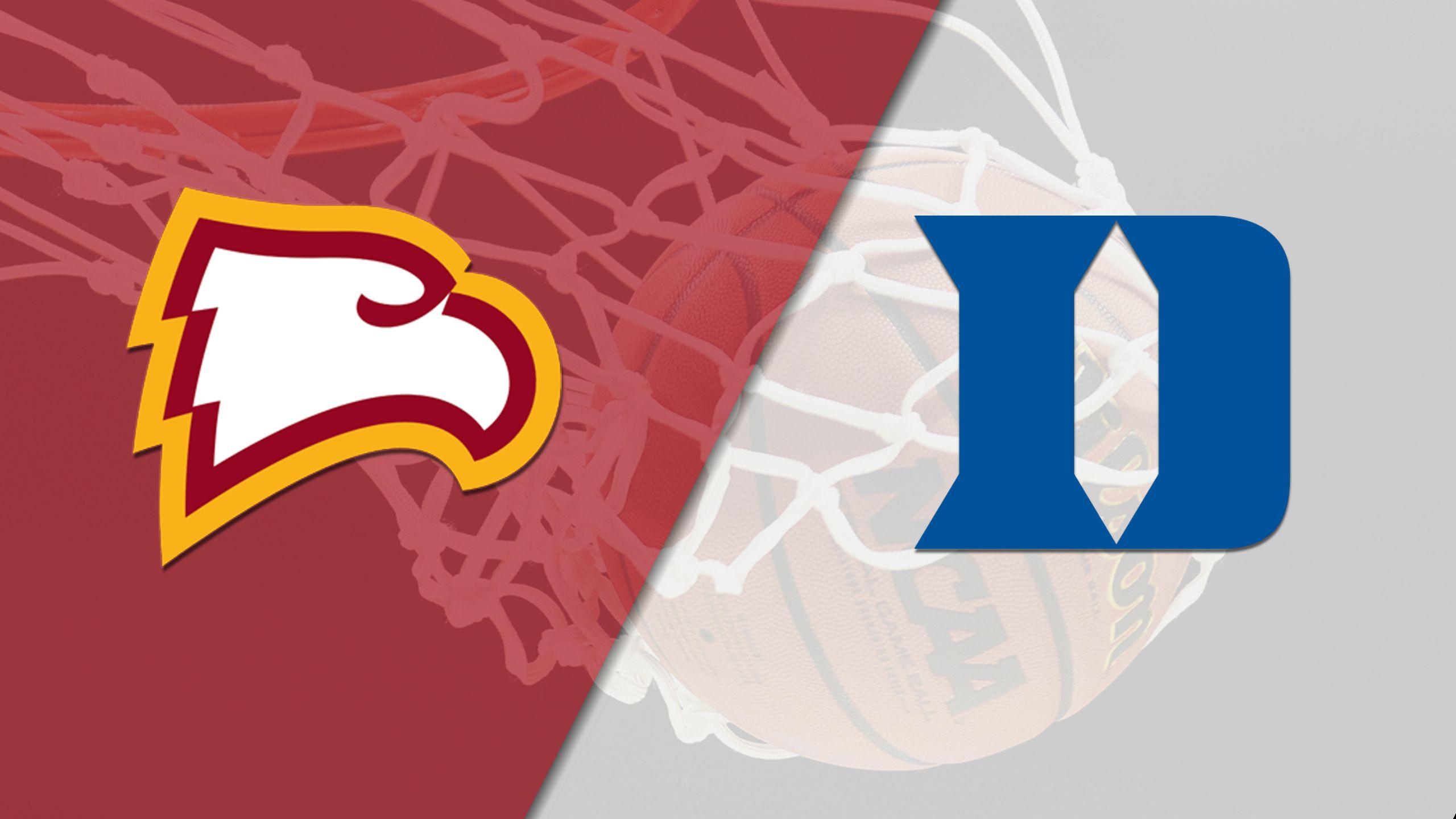 Winthrop vs. #14 Duke (W Basketball)