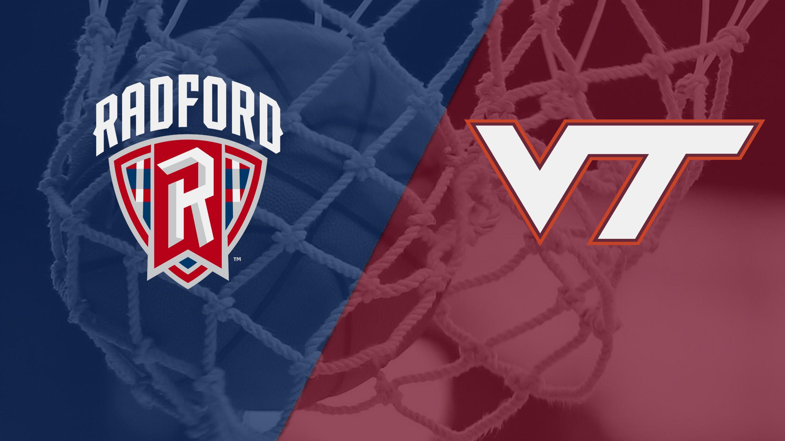 Radford vs. Virginia Tech (W Basketball)