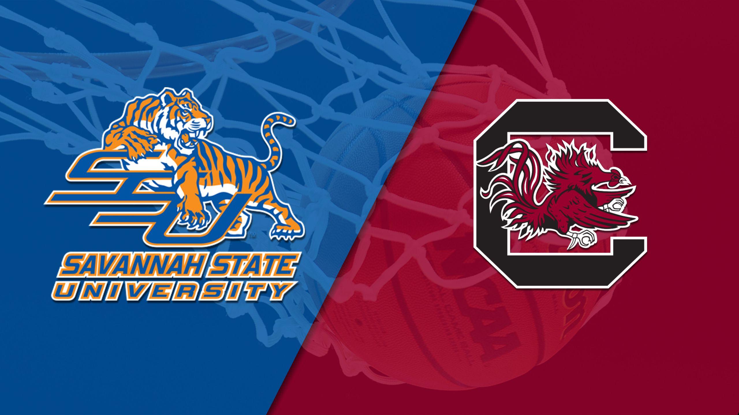 Savannah State vs. #4 South Carolina (W Basketball)