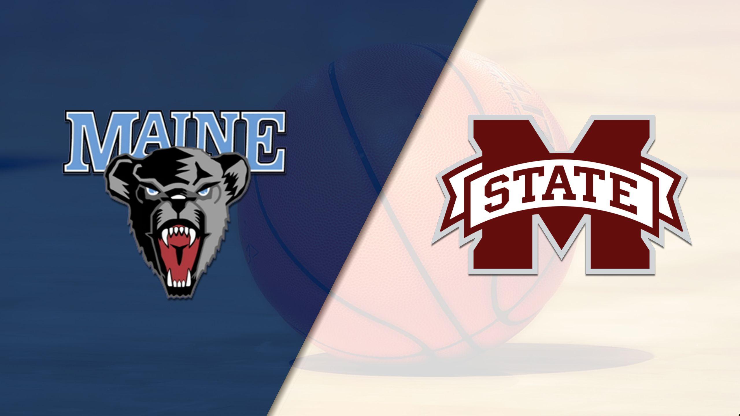 Maine vs. #5 Mississippi State (W Basketball)