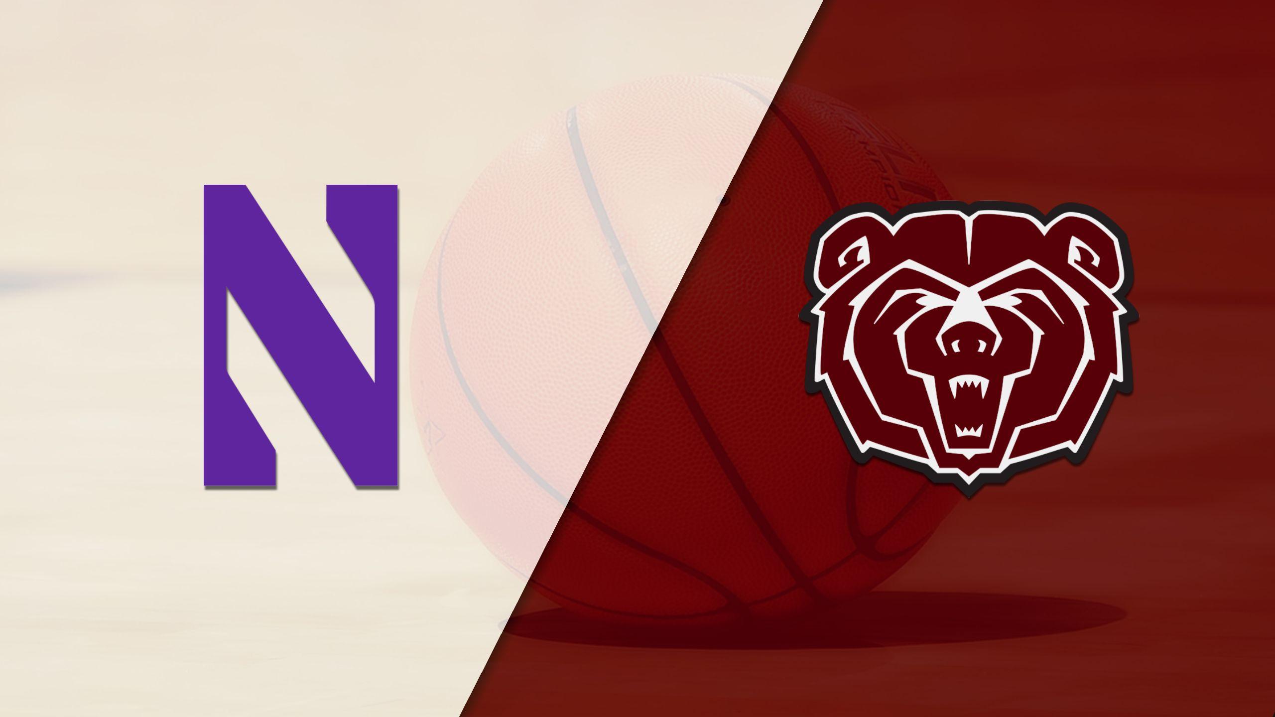 Northwestern vs. Missouri State (W Basketball)