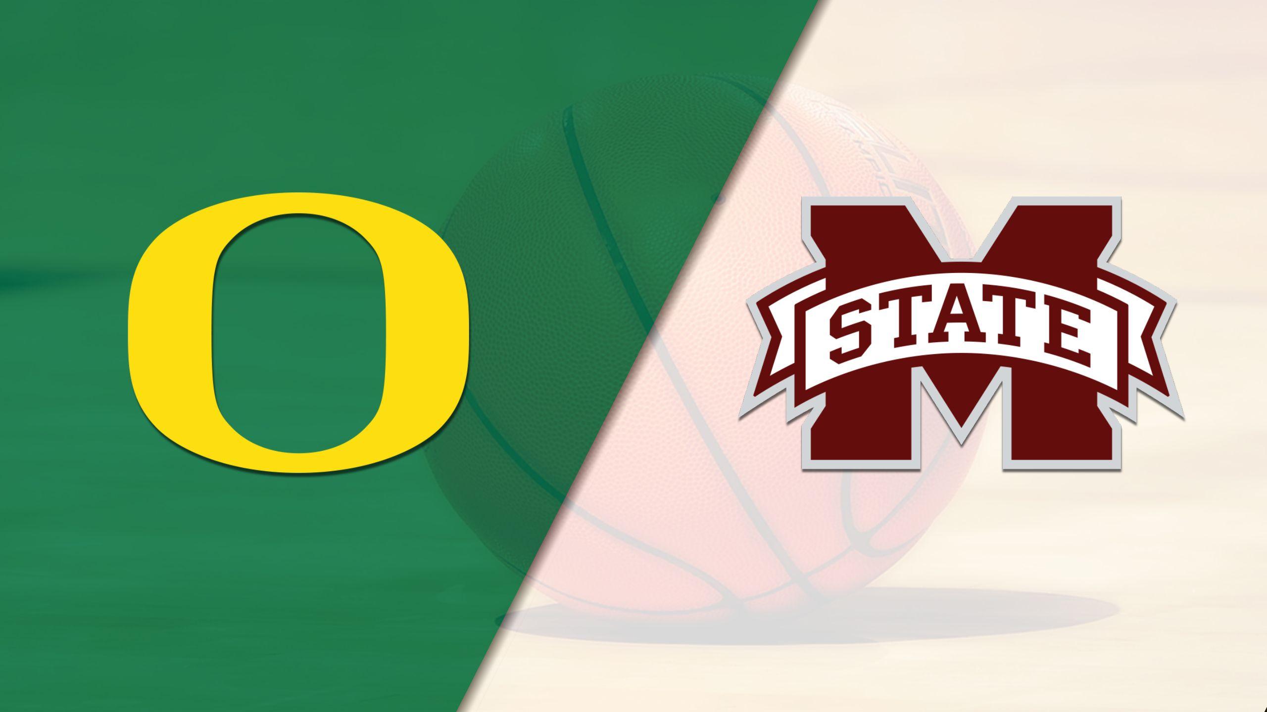 #9 Oregon vs. #5 Mississippi State (W Basketball)