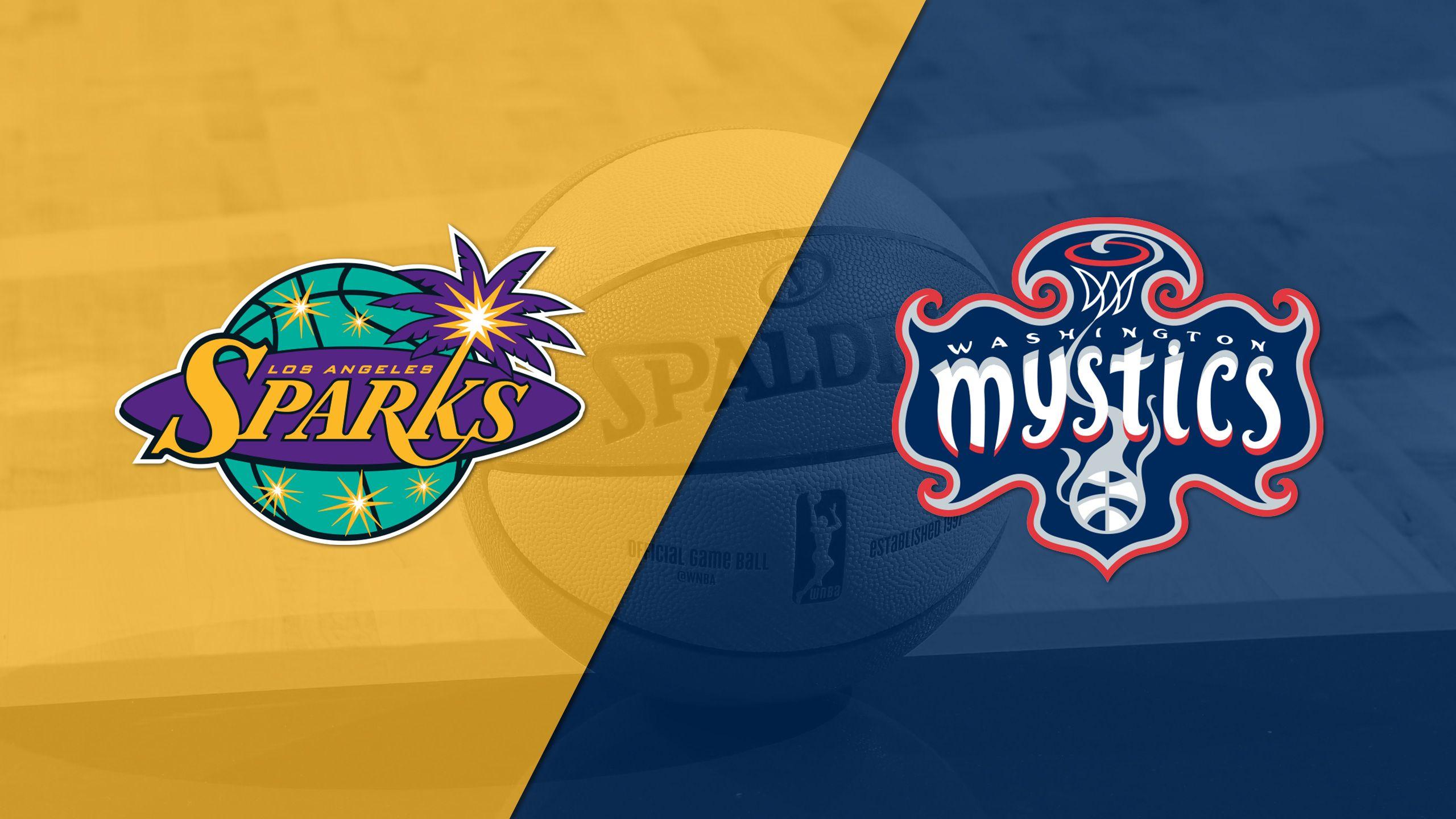 Los Angeles Sparks vs. Washington Mystics