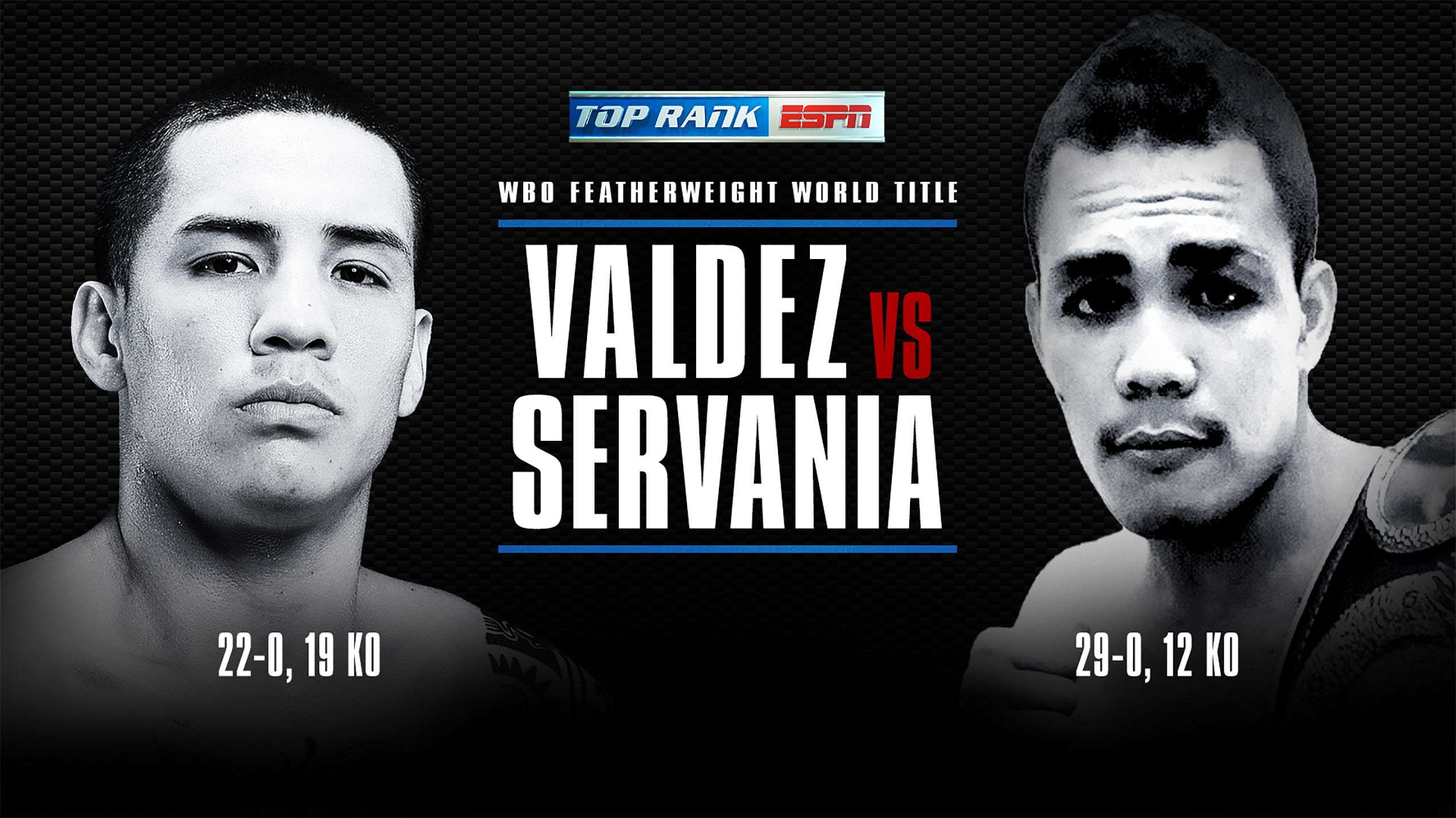 Oscar Valdez vs. Genesis Servania (re-air)