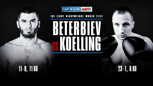 Artur Beterbiev vs. Enrico Koelling