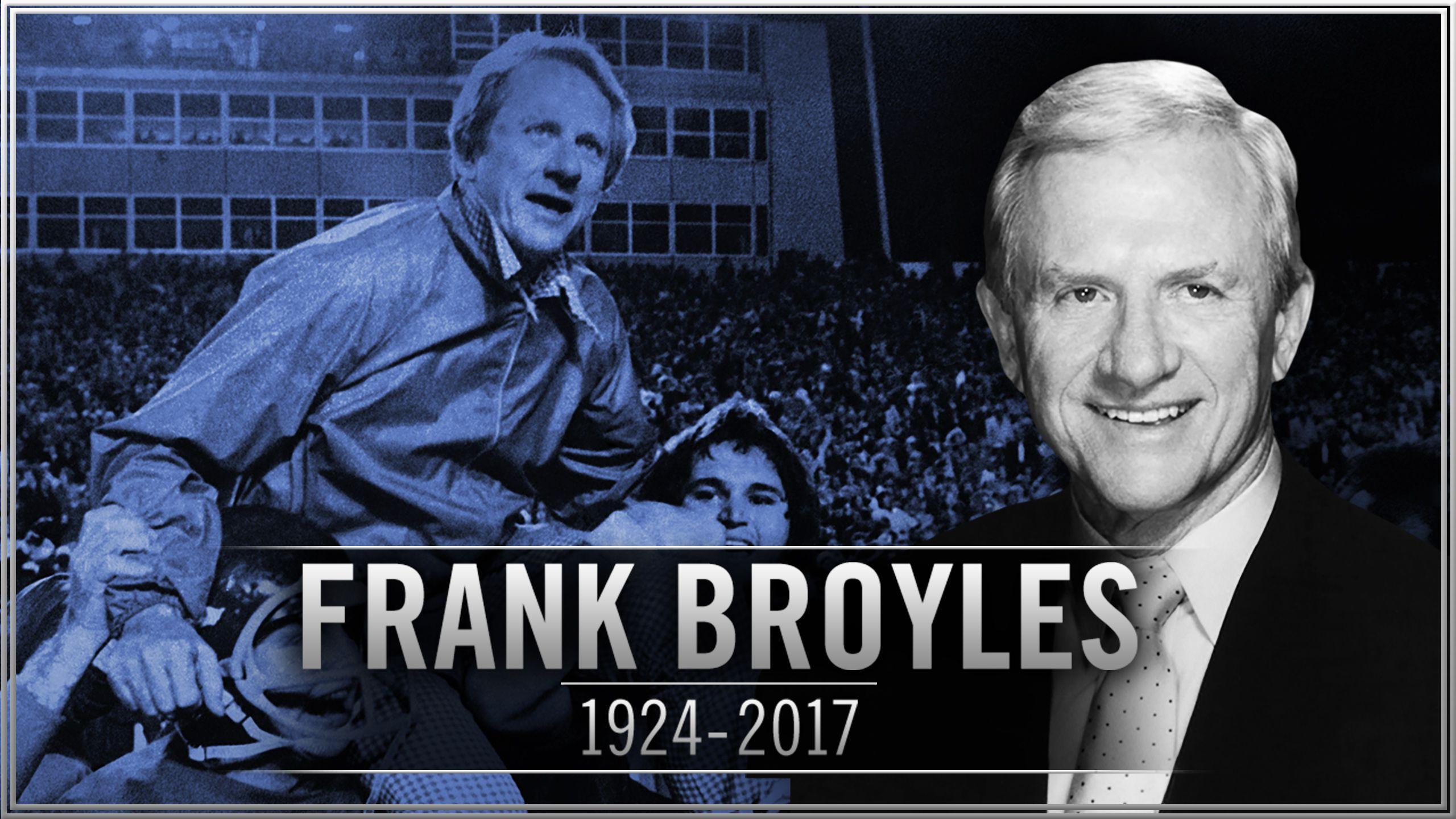 Frank Broyles Celebration of Life