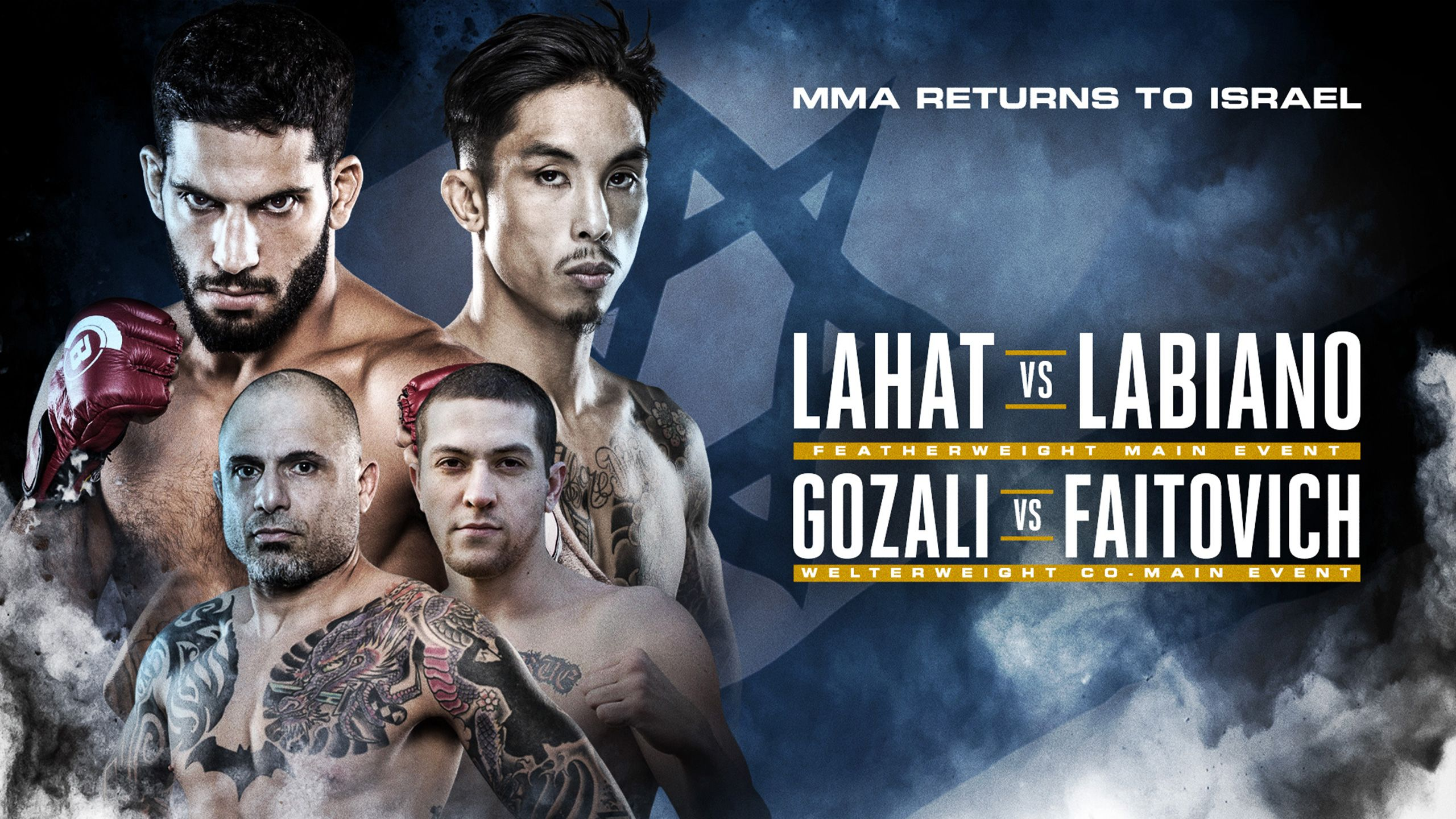 In Spanish - Jeremiah Labiano vs. Noad Lahat (Main Event)