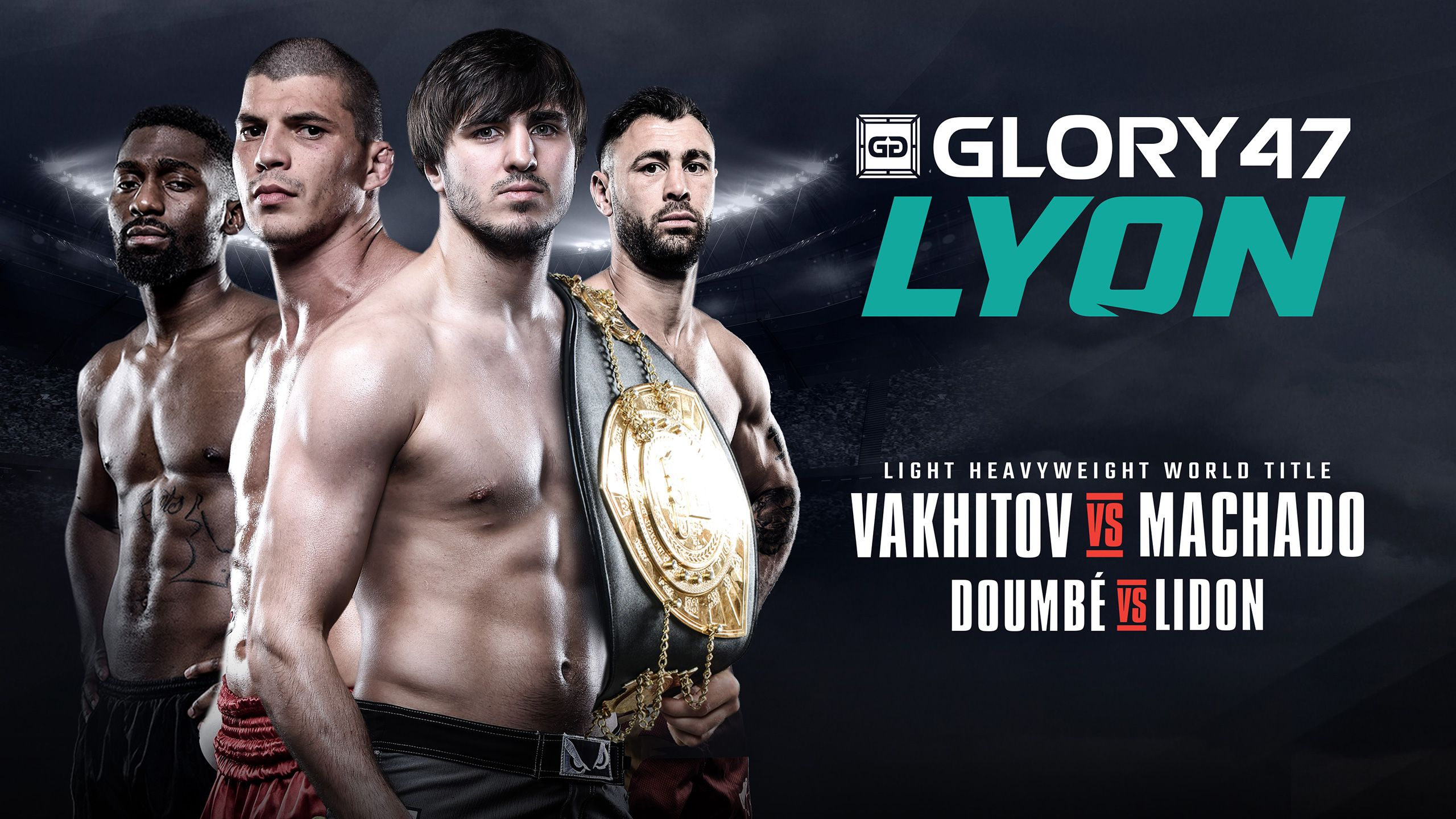 In Spanish - Kickboxing: GLORY 47