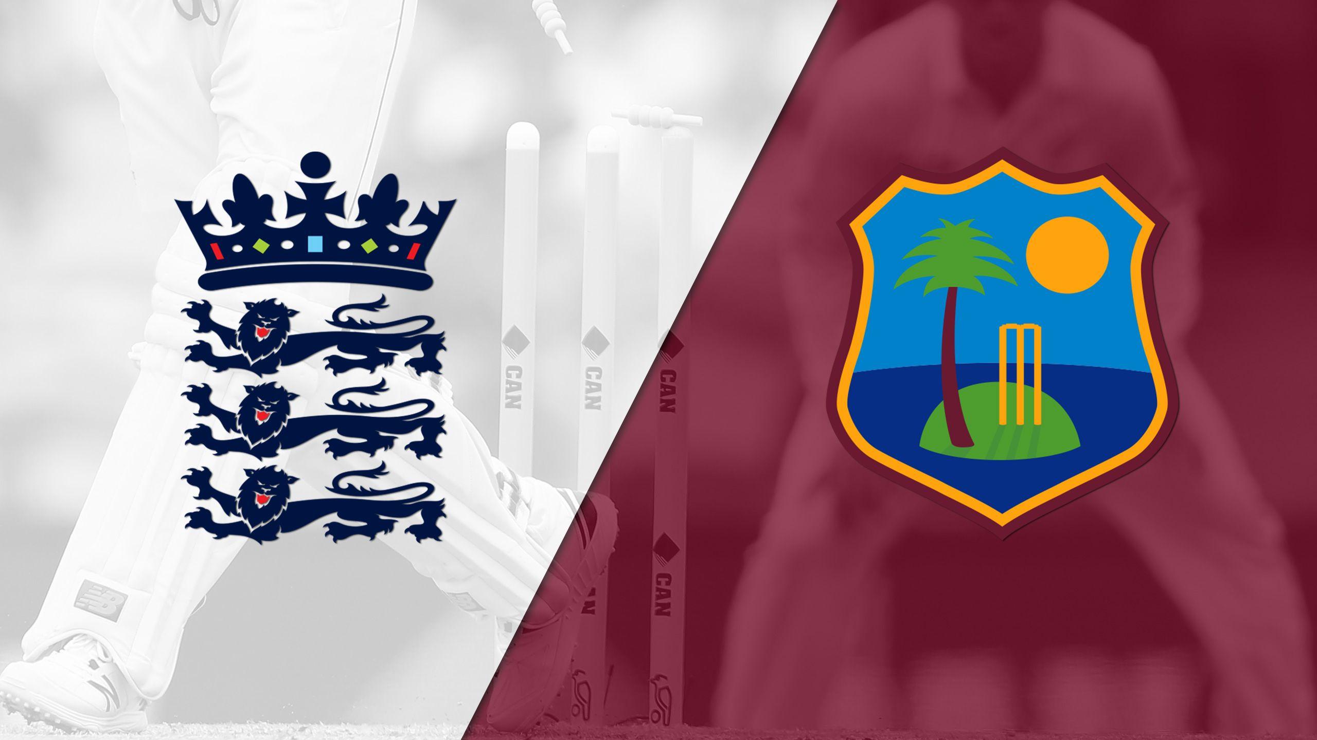 England vs. West Indies (Test 1, Day 3) (International Cricket)