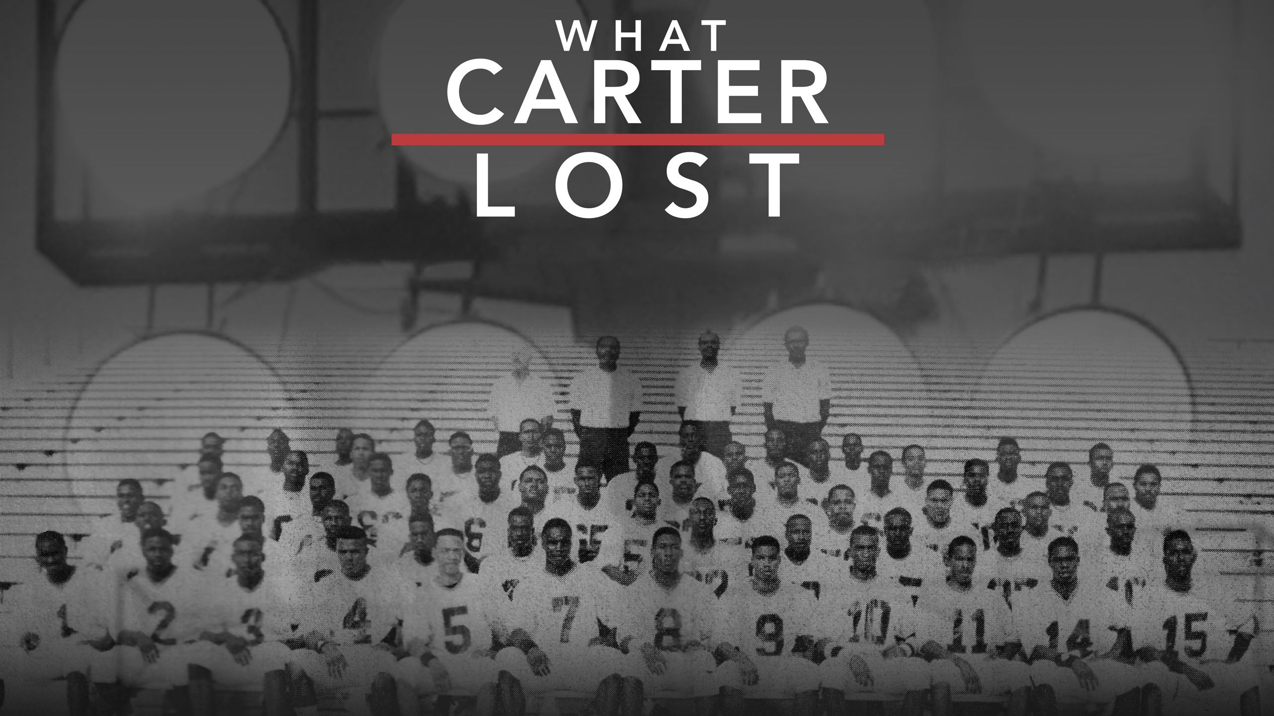 30 for 30: What Carter Lost Presented by MINI
