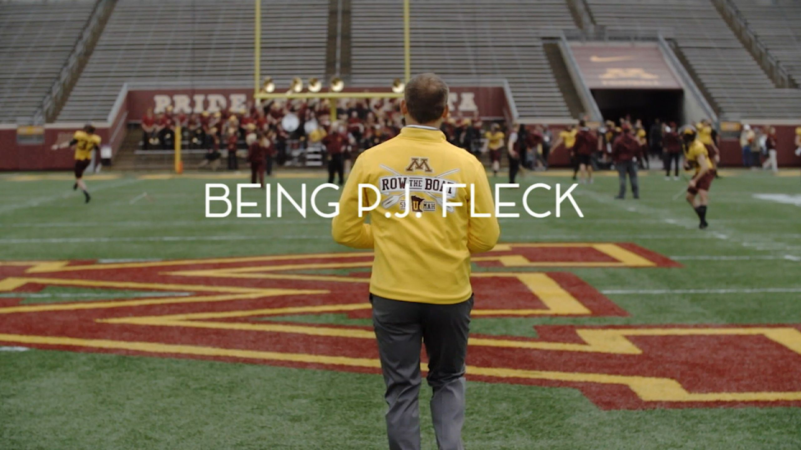 BEING P.J. Fleck: Into the Fire