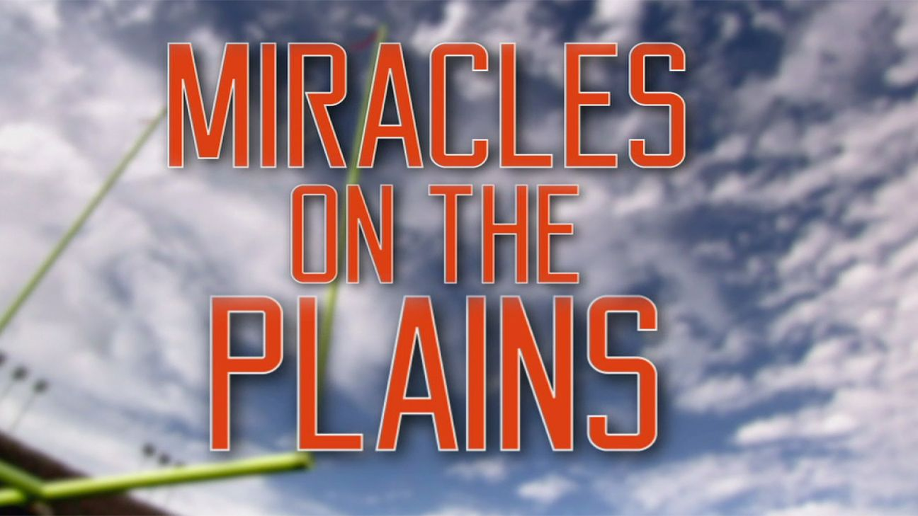SEC Storied: Miracles on the Plains Presented By Dr Pepper