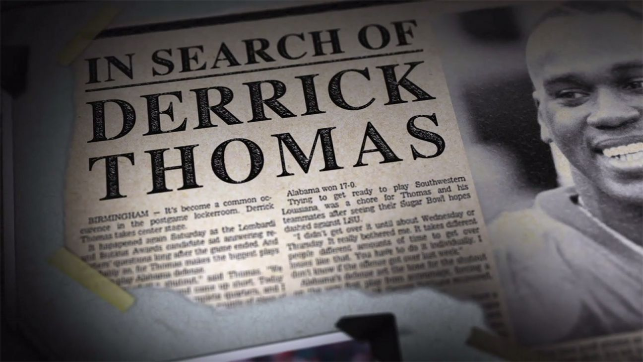 SEC Storied: In Search of Derrick Thomas