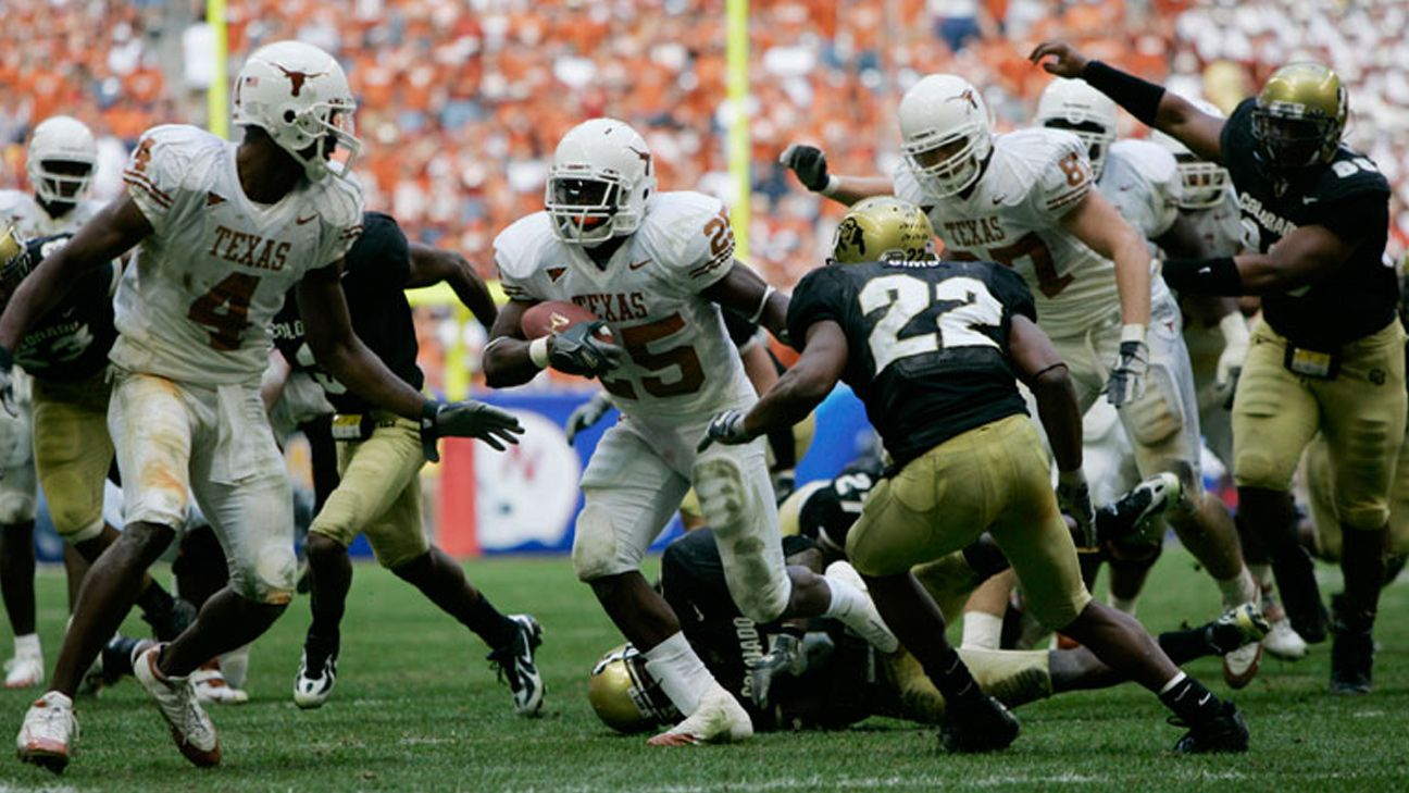 Texas Longhorns vs. Colorado Buffaloes (Football) (re-air)