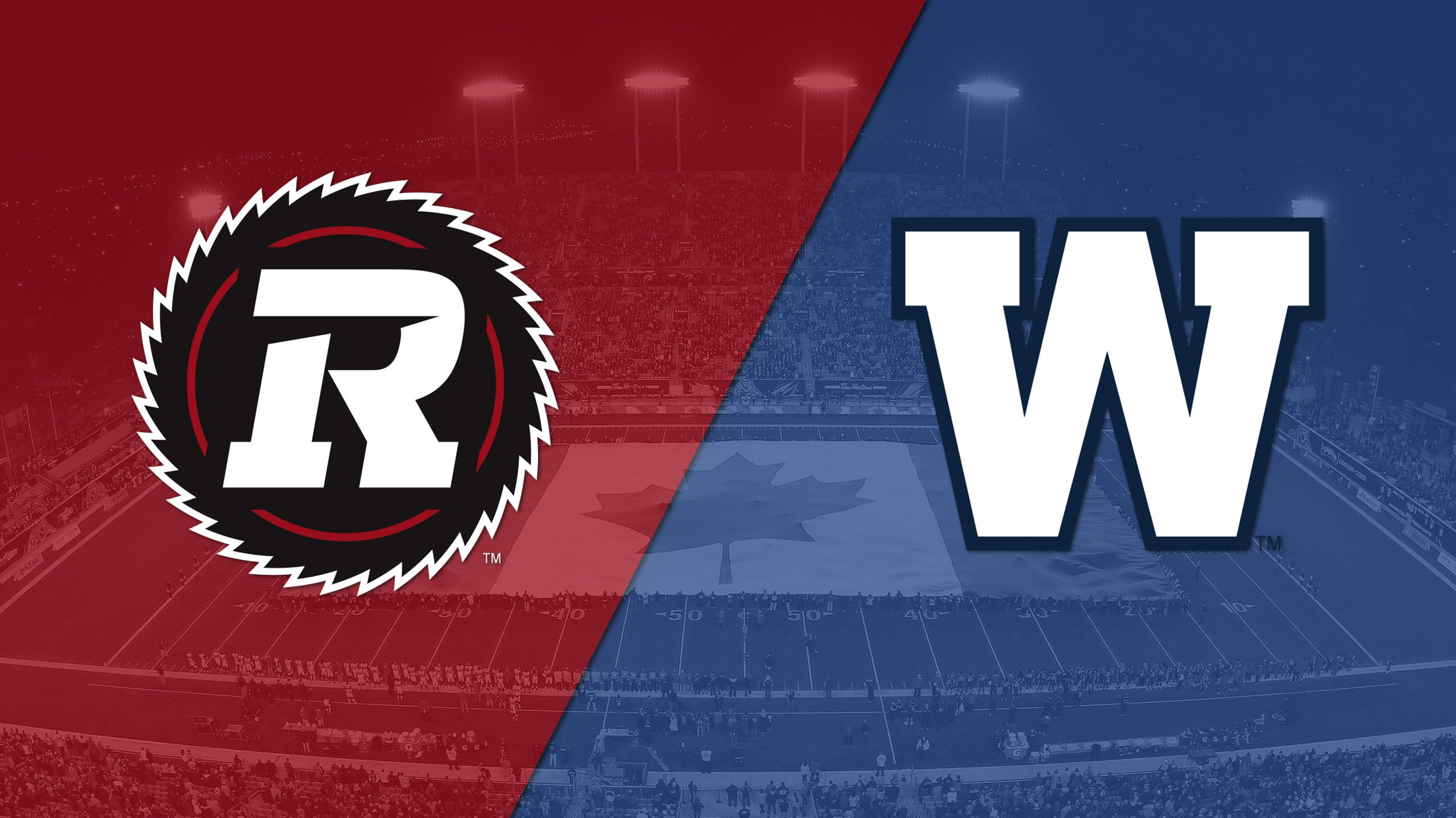 Ottawa Redblacks vs. Winnipeg Blue Bombers