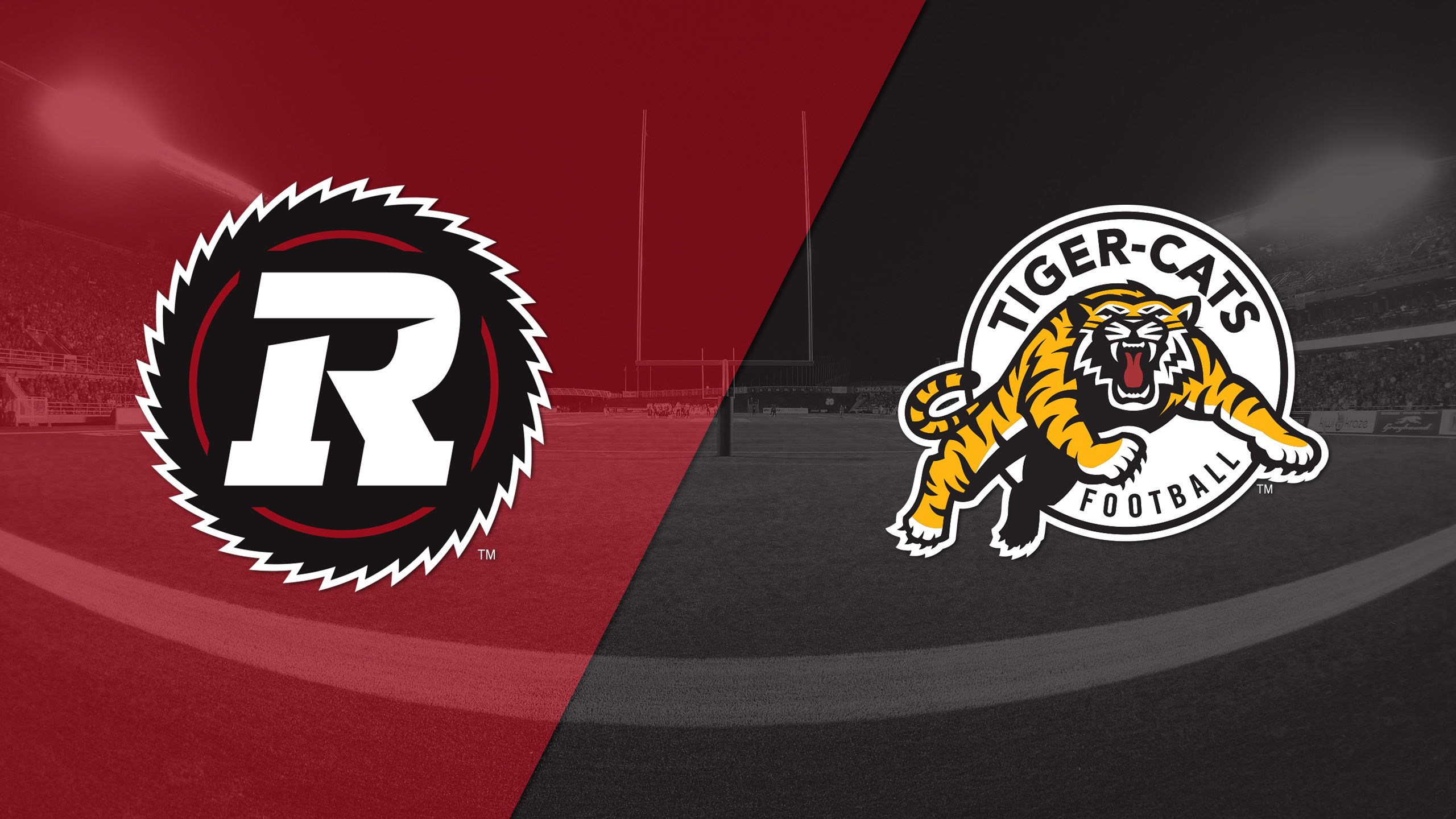 Ottawa Redblacks vs. Hamilton Tiger-Cats
