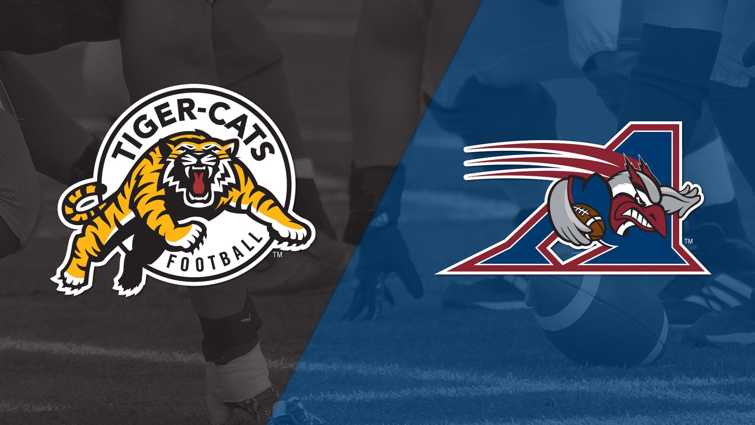 Hamilton Tiger-Cats vs. Montreal Alouettes