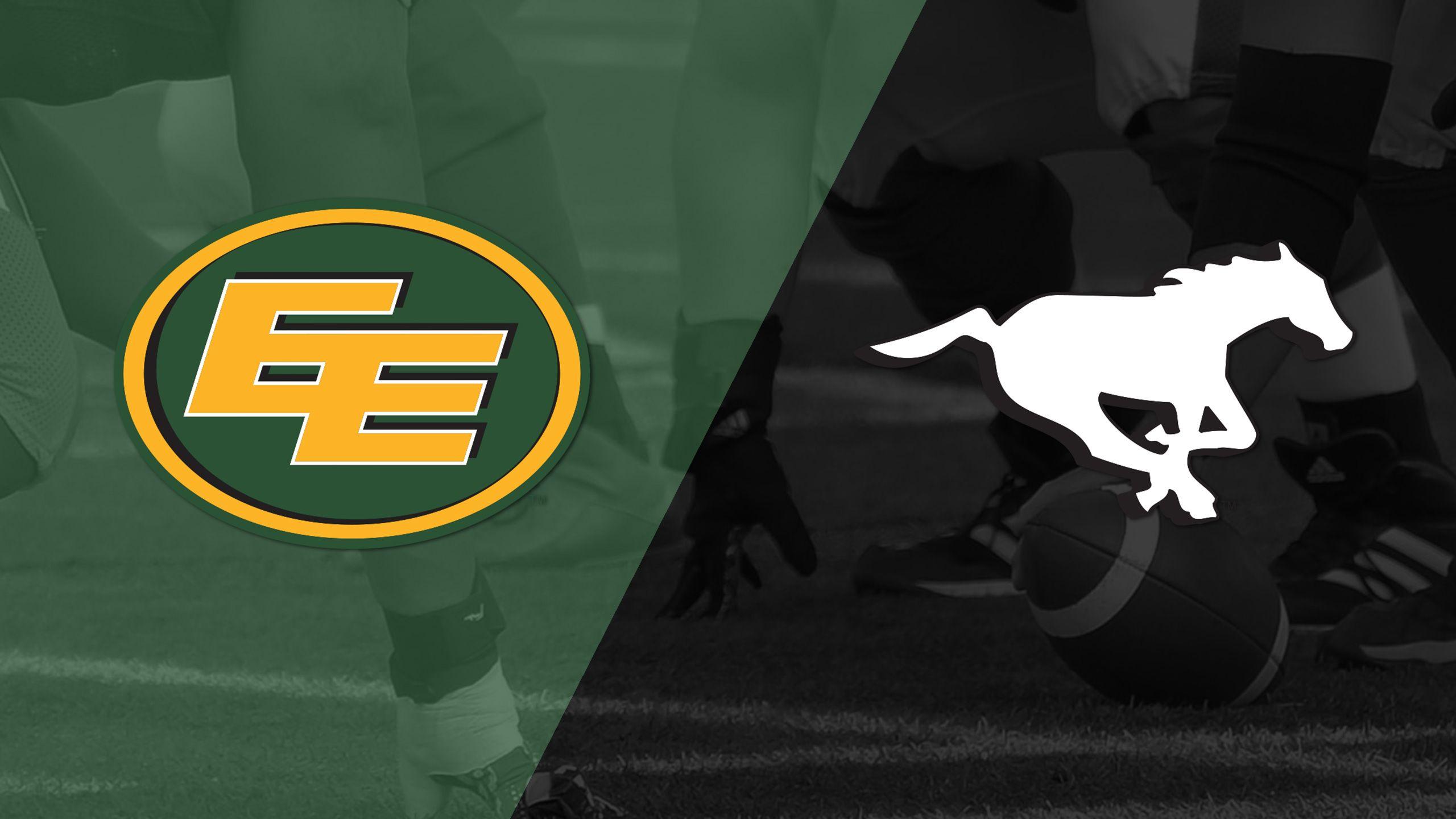 Edmonton Eskimos vs. Calgary Stampeders (Western Finals)