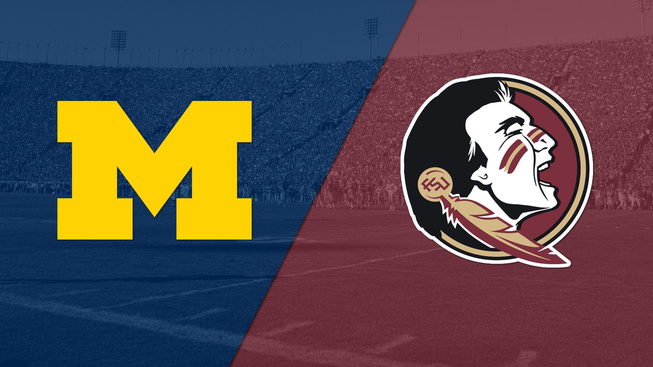 #6 Michigan vs. #11 Florida State (Capital One Orange Bowl) (re-air)