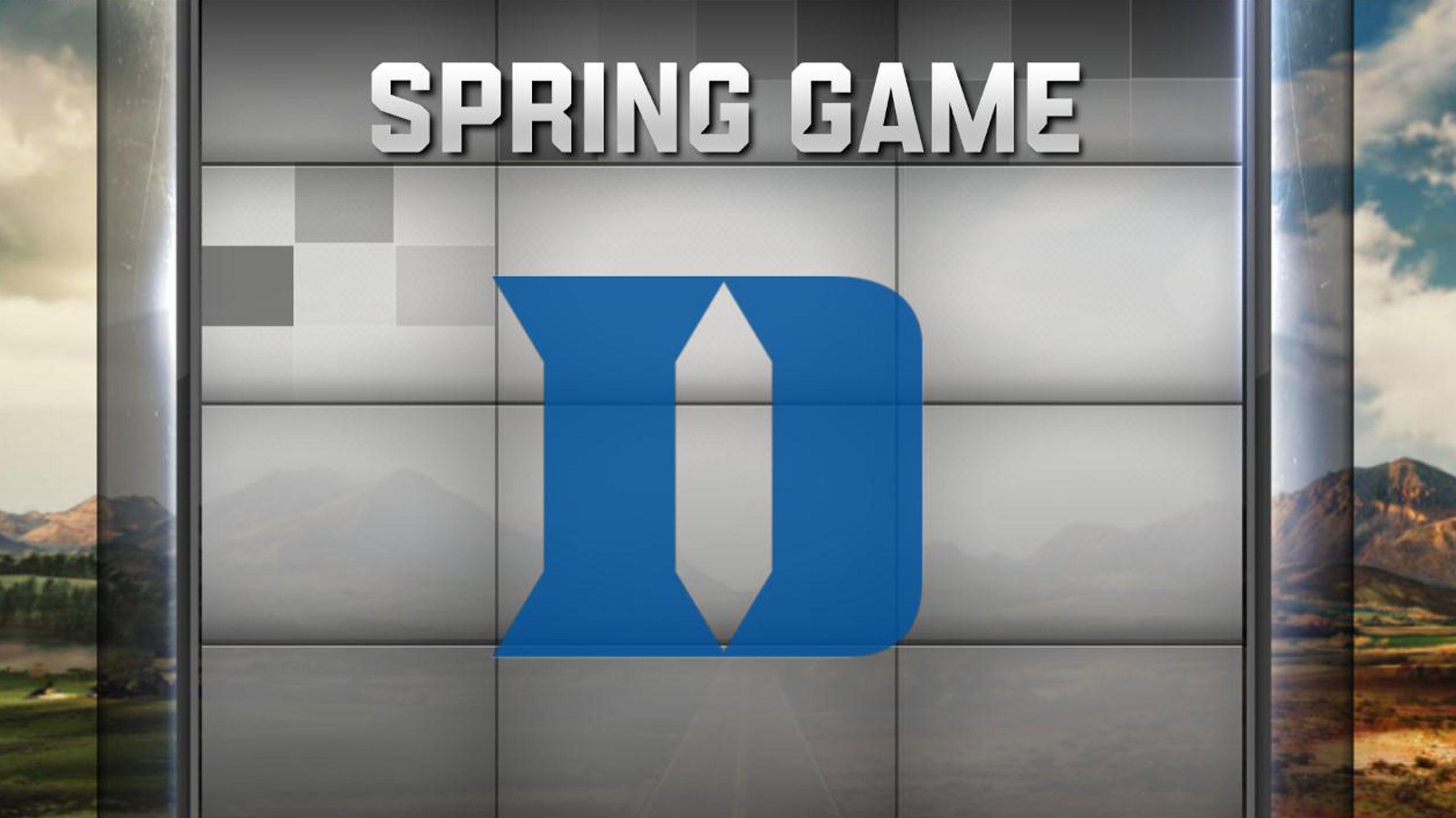 Duke Spring Football Game