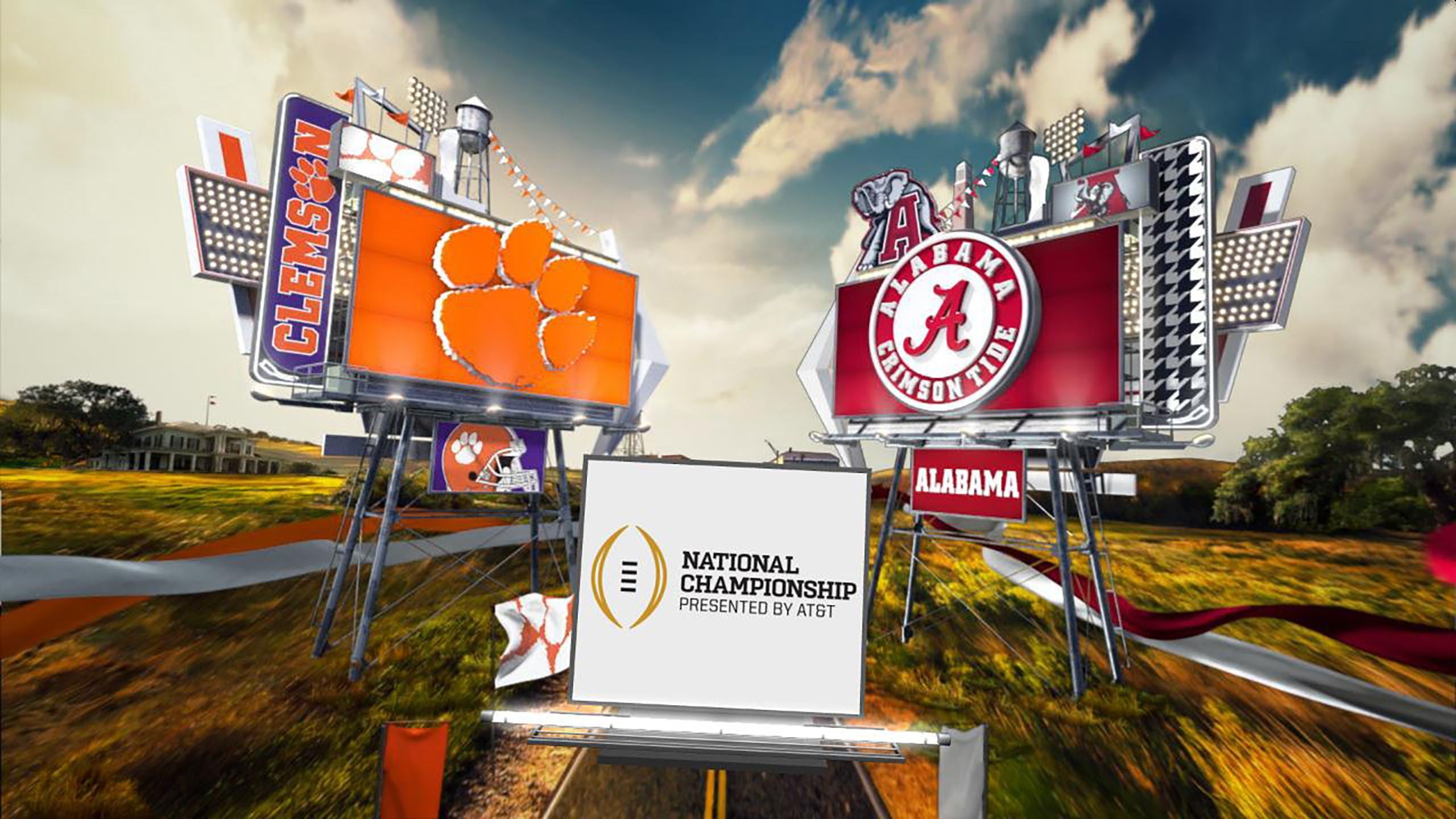 #2 Clemson vs. #1 Alabama (Championship) (CFP Championship) (re-air)