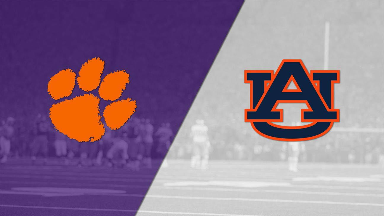 #2 Clemson vs. Auburn (Football) (re-air)