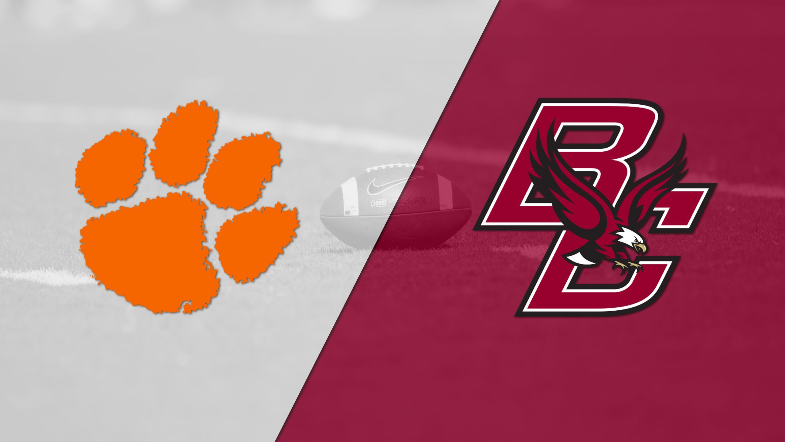 #3 Clemson vs. Boston College (Football) (re-air)