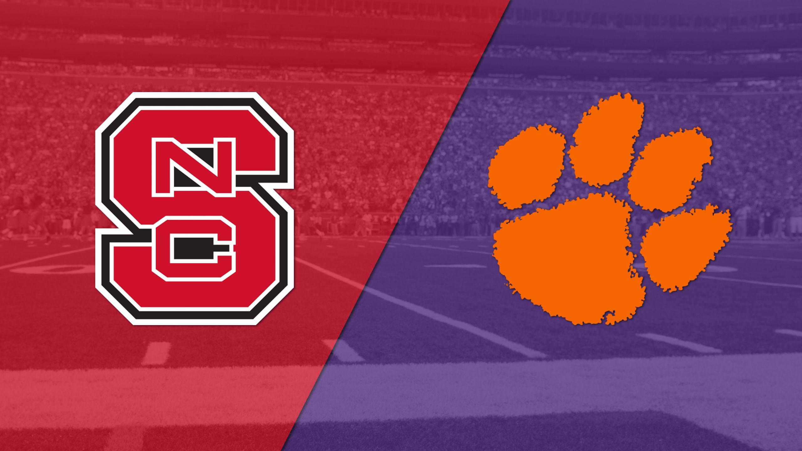 NC State vs. #3 Clemson (Football) (re-air)